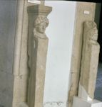 Table support with head of Dionysus