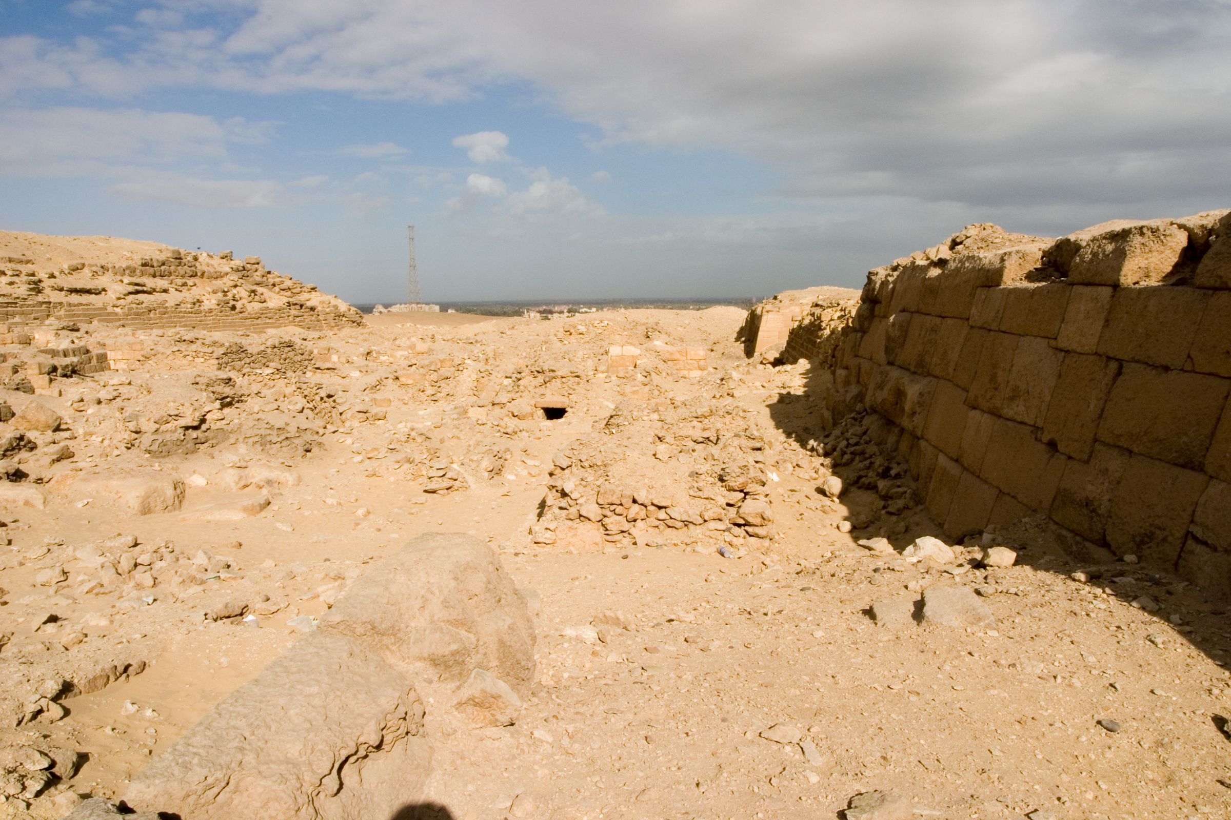 Western Cemetery: Site: Giza; View: G 2021, G 2022, G 2023, G 2041, G 2100-I