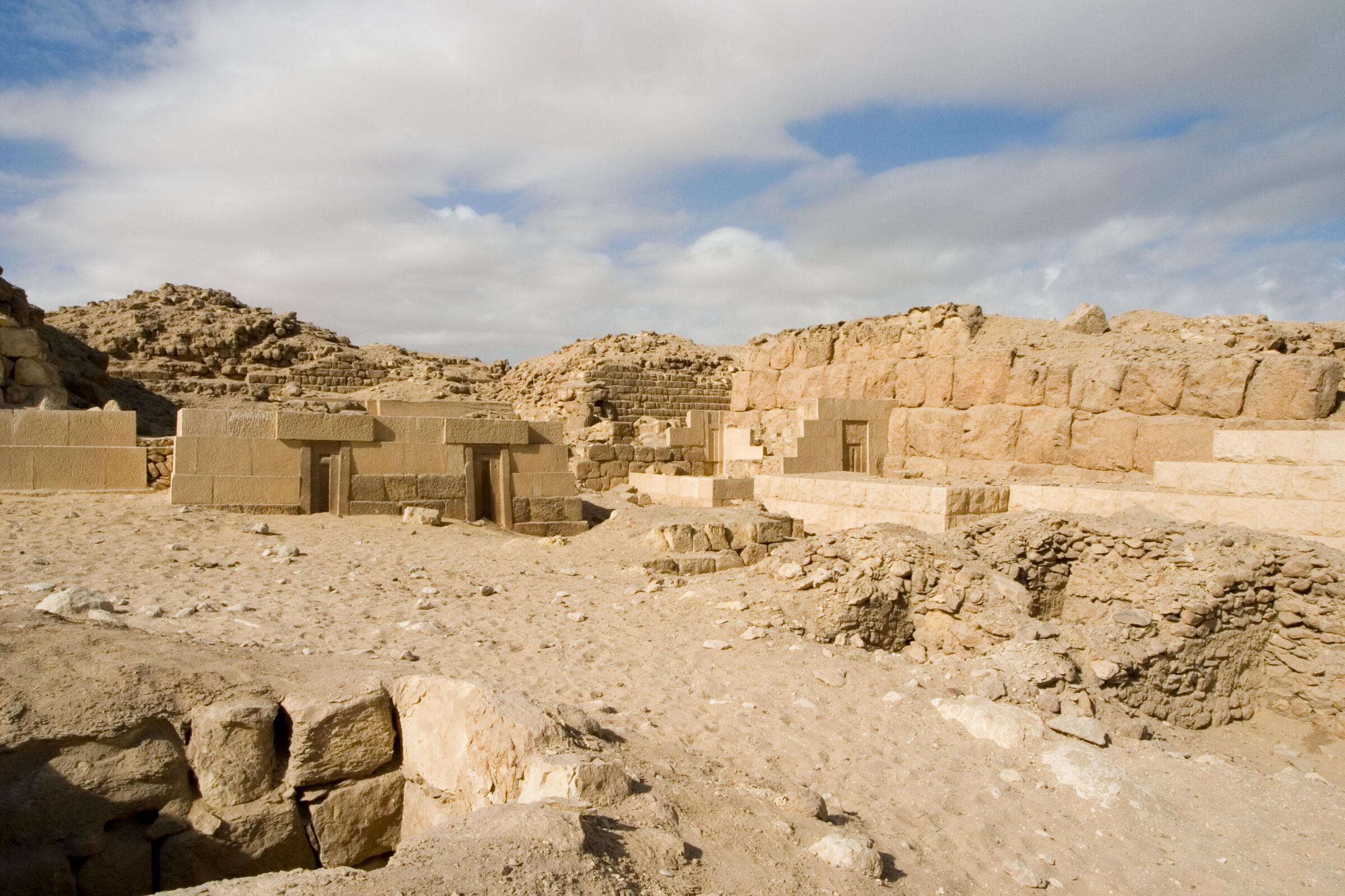 Western Cemetery: Site: Giza; View: G 2151, G 2138, G 2134, G 2157, G 2154