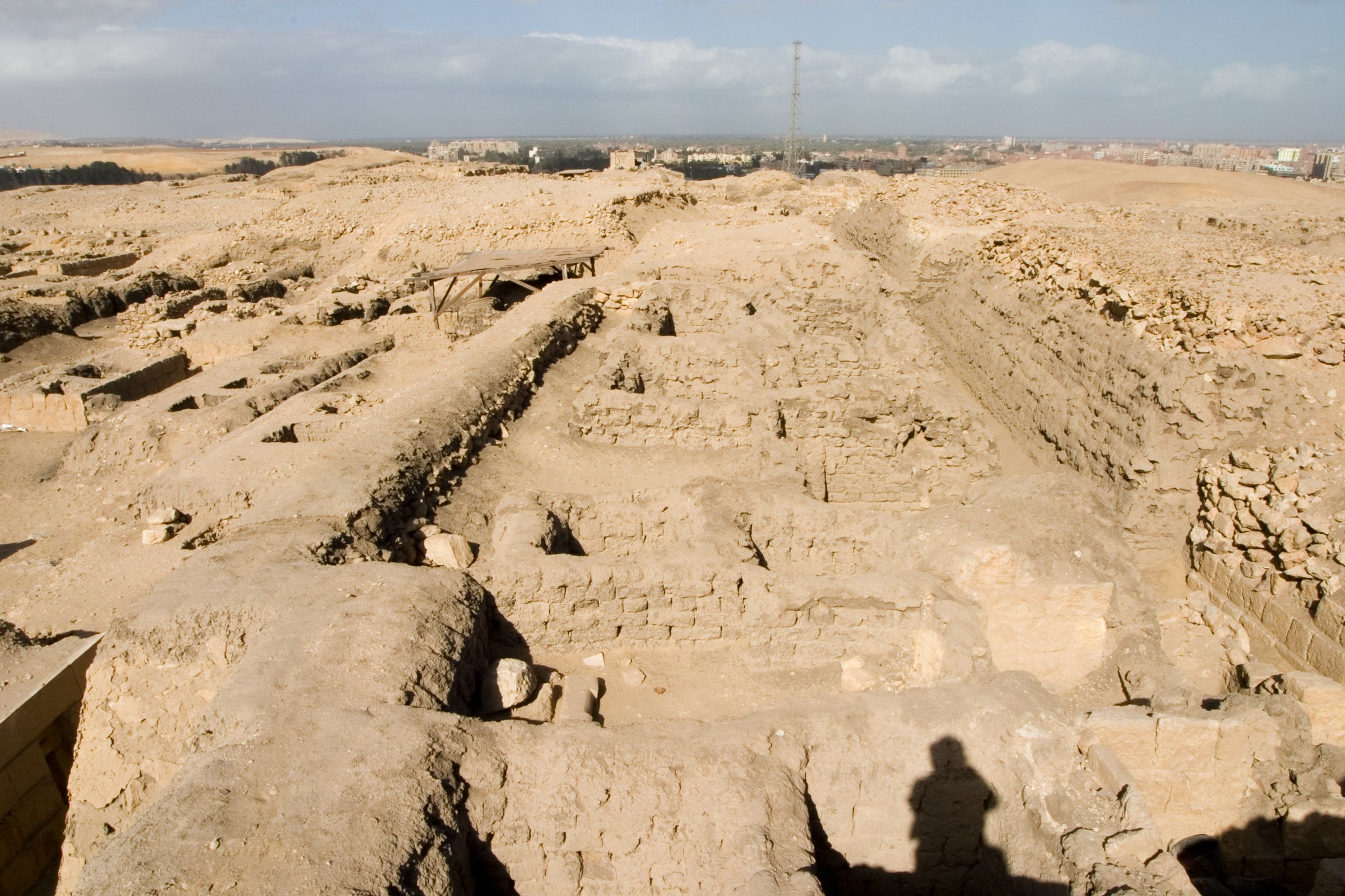 Western Cemetery: Site: Giza; View: G 1452+1453