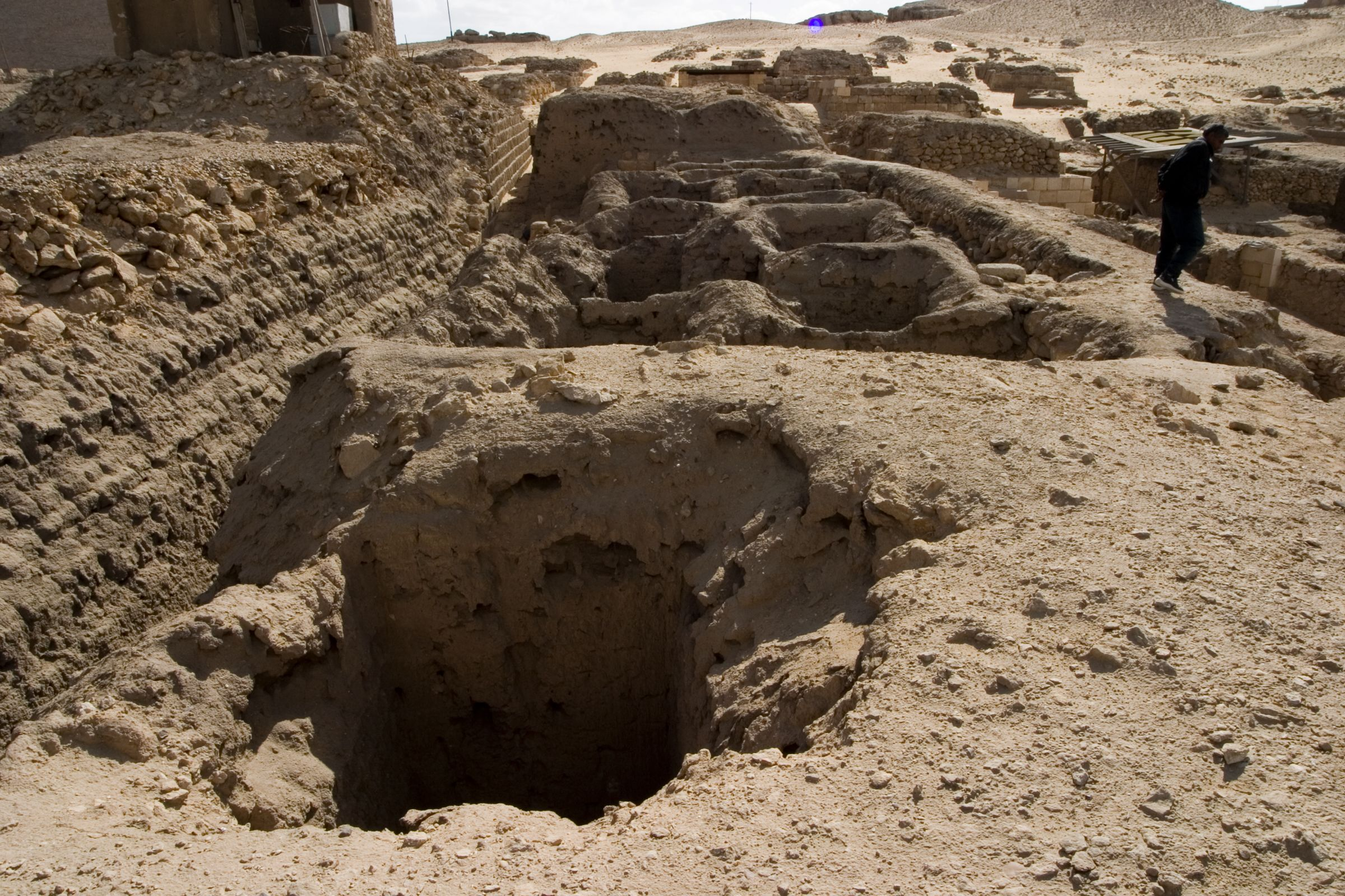 Western Cemetery: Site: Giza; View: G 1451, G 1452+1453