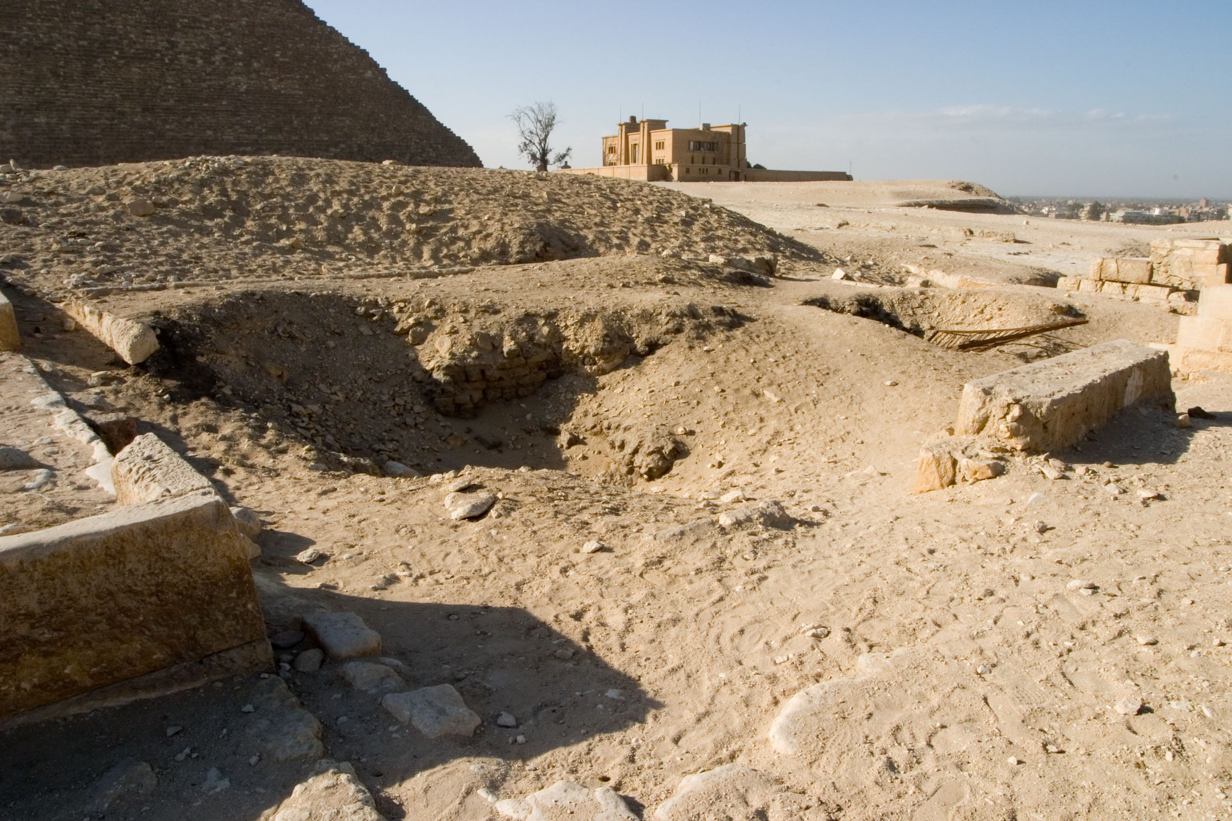 Eastern Cemetery: Site: Giza; View: G 7412