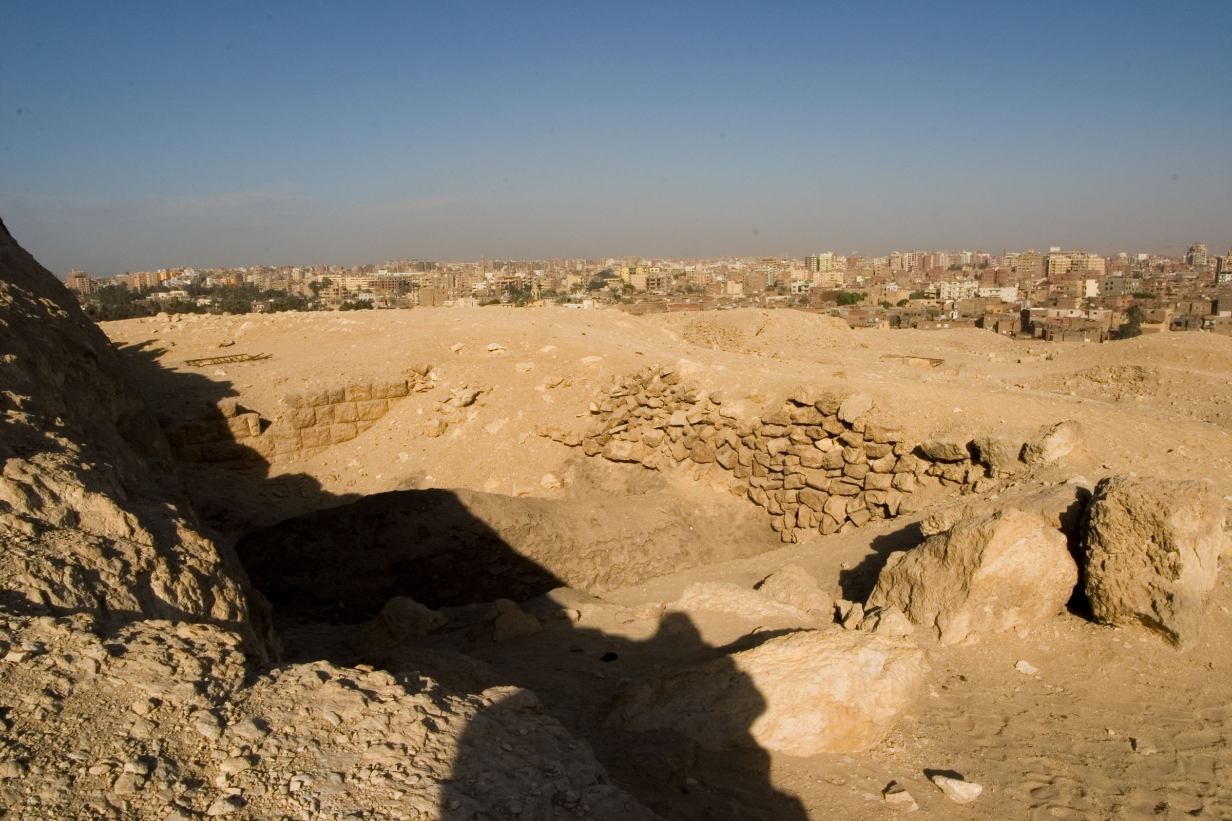 Eastern Cemetery: Site: Giza; View: G 7820