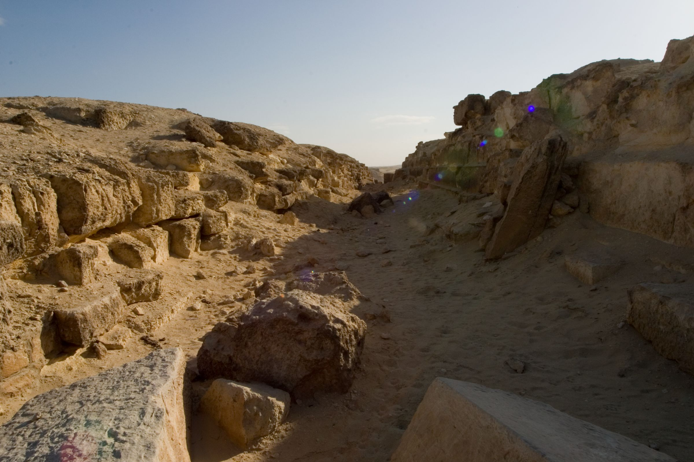 Eastern Cemetery: Site: Giza; View: street G 7400, G 7410-7420, G 7510