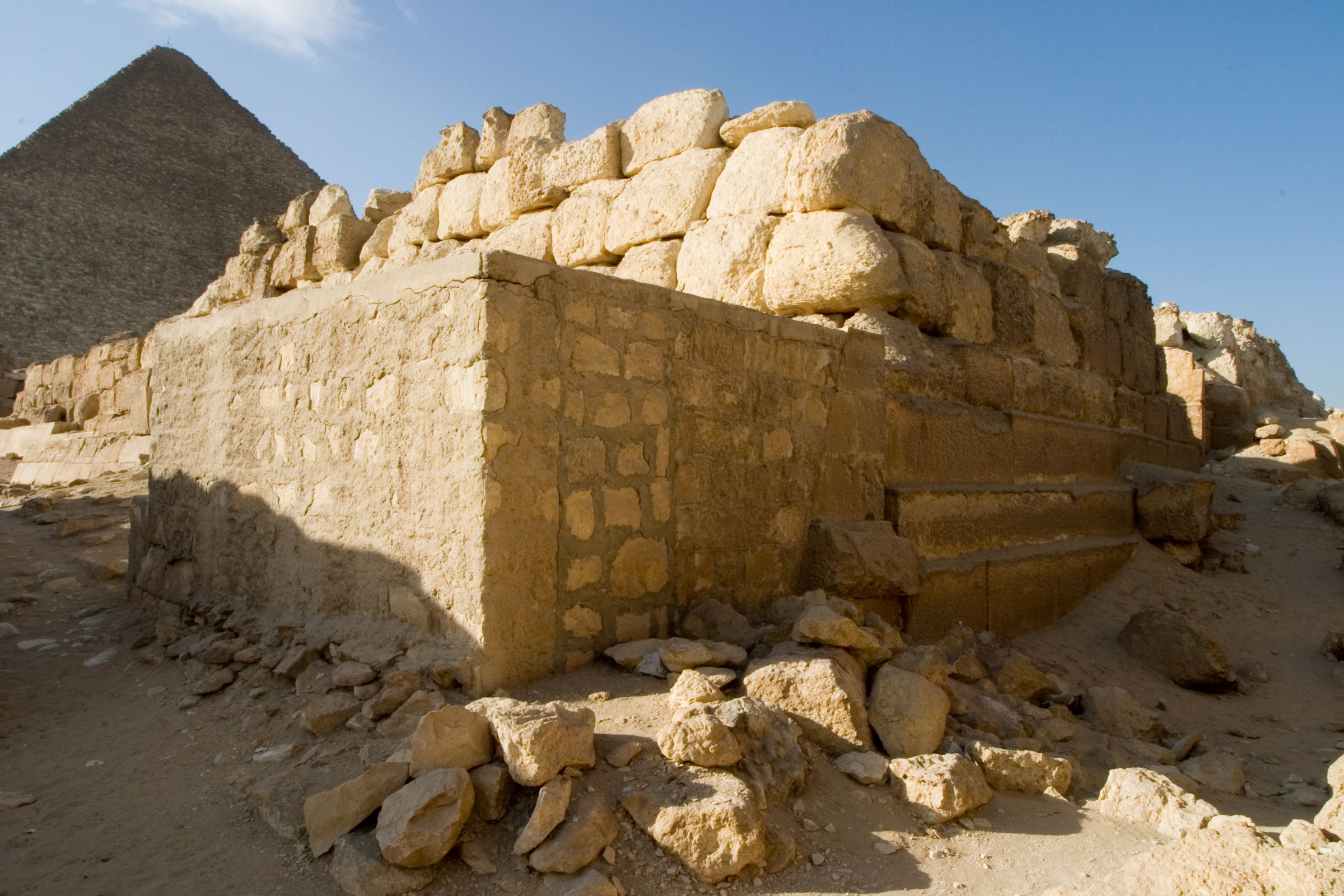 Eastern Cemetery: Site: Giza; View: G 7432
