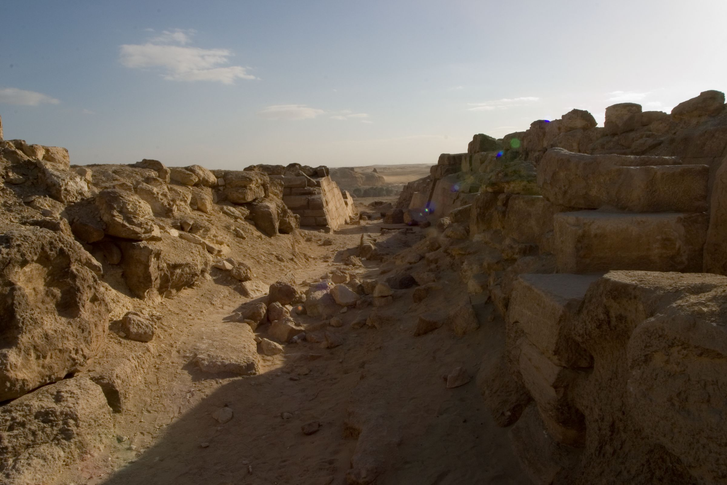 Eastern Cemetery: Site: Giza; View: street G 7400, G 7430-7440, G 7520