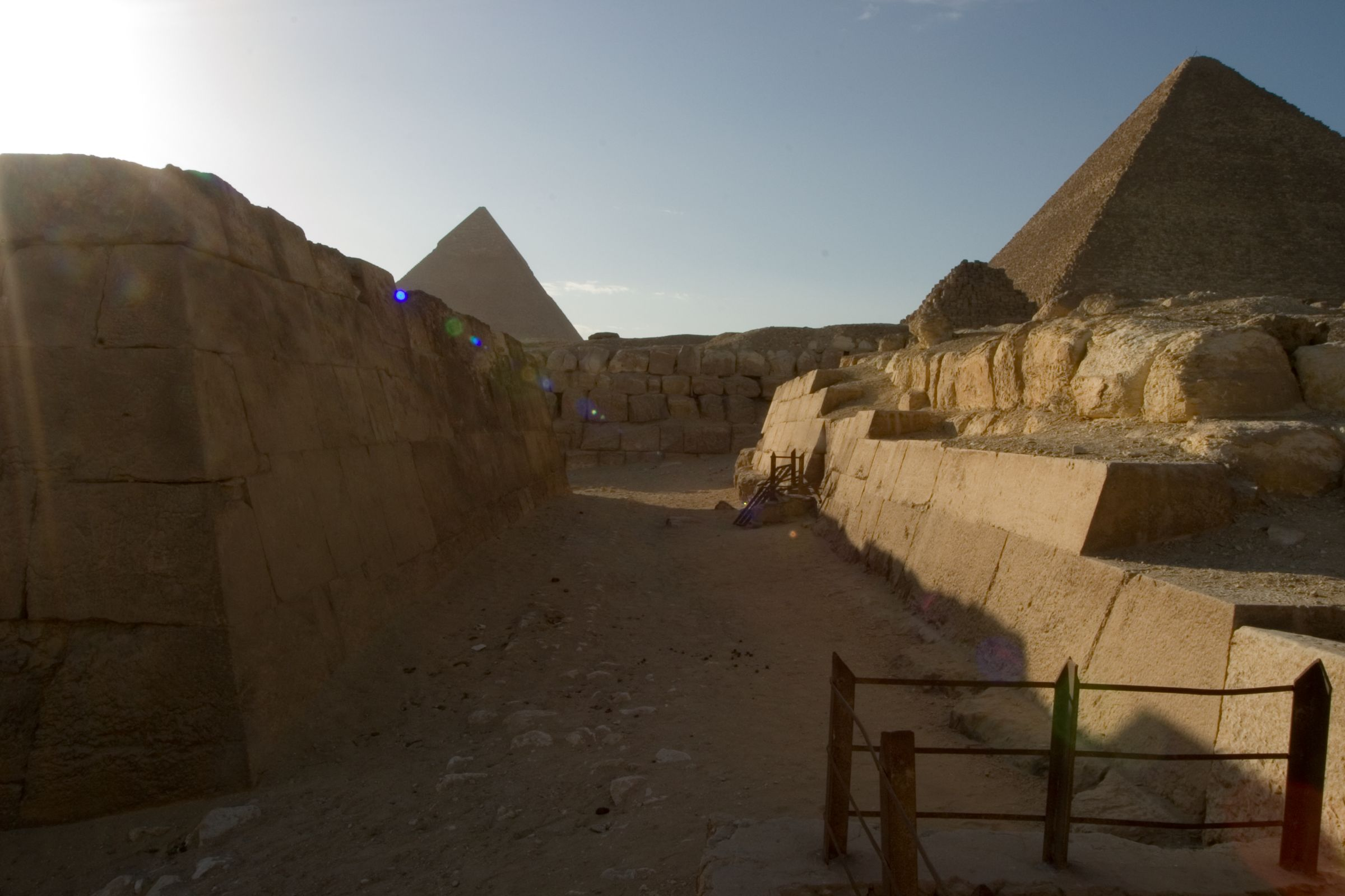 Eastern Cemetery: Site: Giza; View: G 7450, G 7550, G 7530-7540
