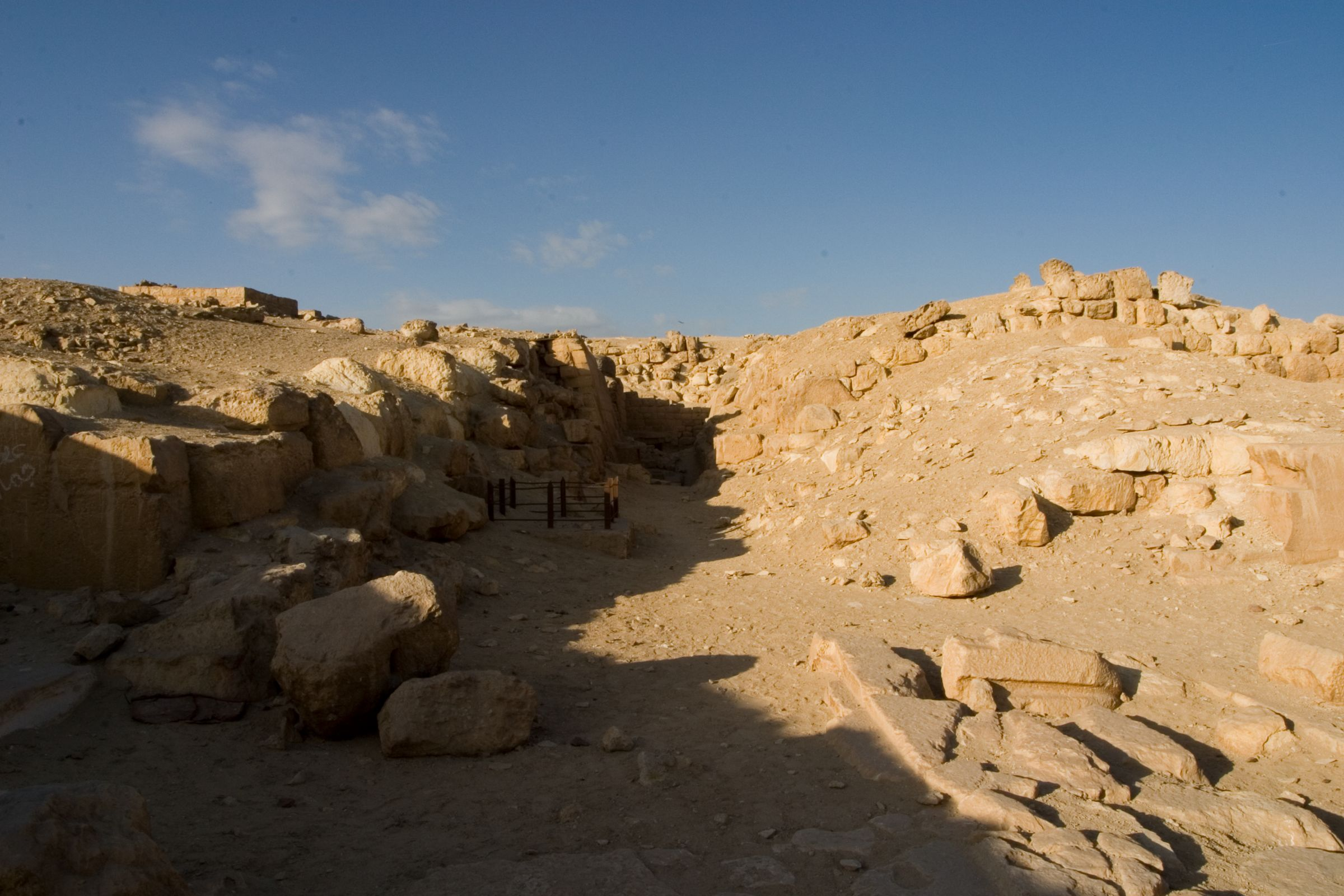 Eastern Cemetery: Site: Giza; View: street G 7500, G 7510, G 7530-7540, G 7650