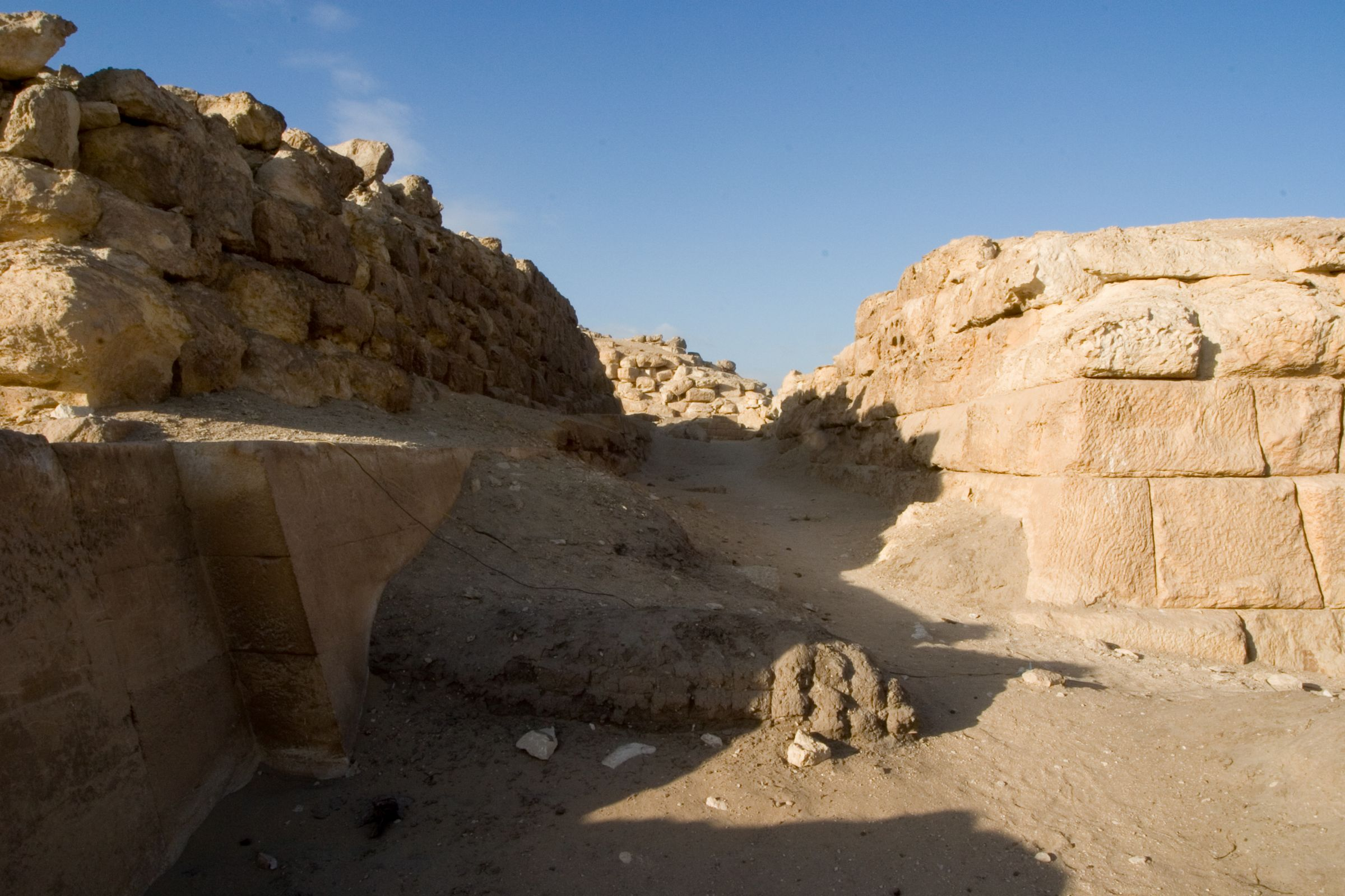 Eastern Cemetery: Site: Giza; View: street G 7600, G 7650, G 7750, G 7510