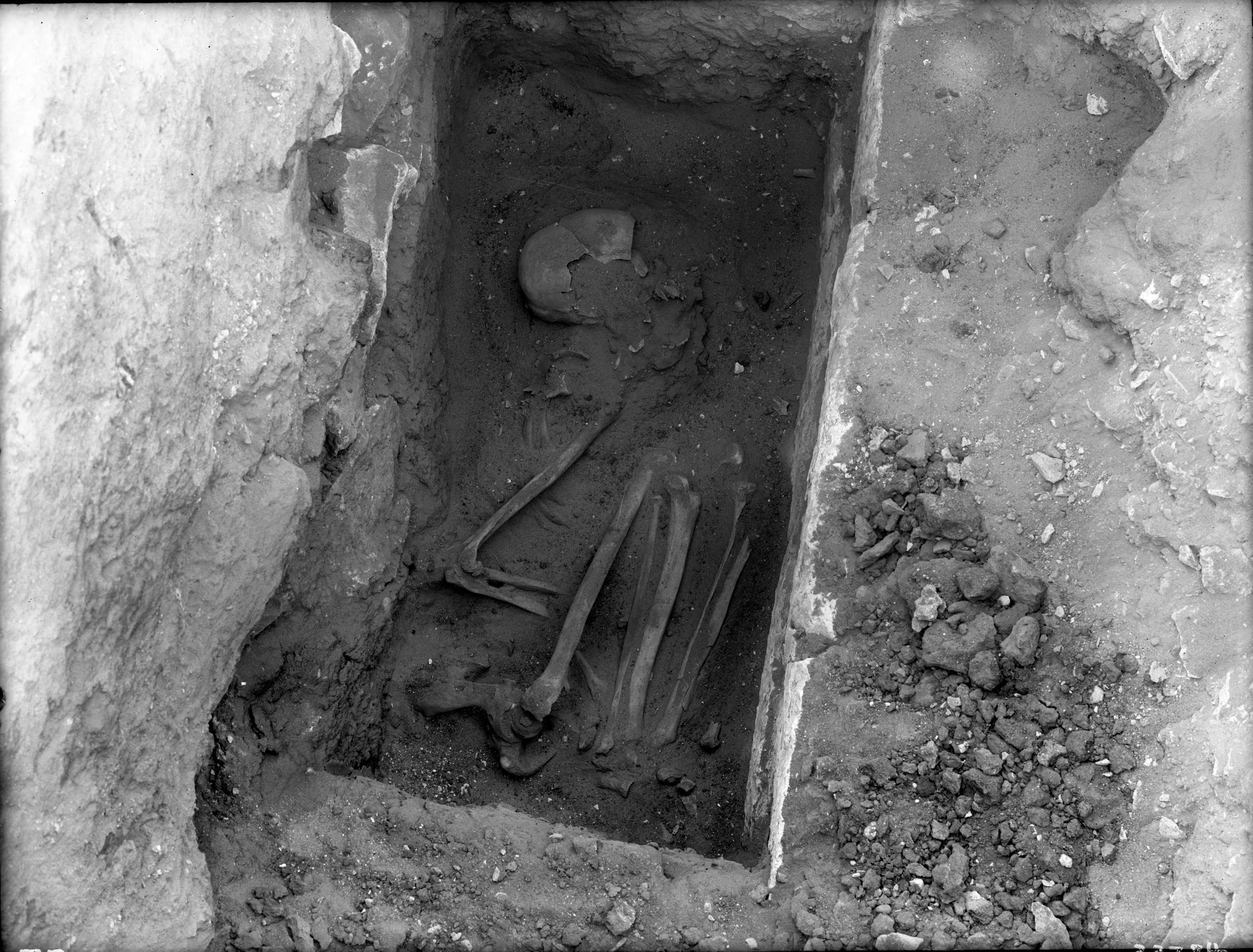 Western Cemetery: Site: Giza; view: Cemetery G 3000