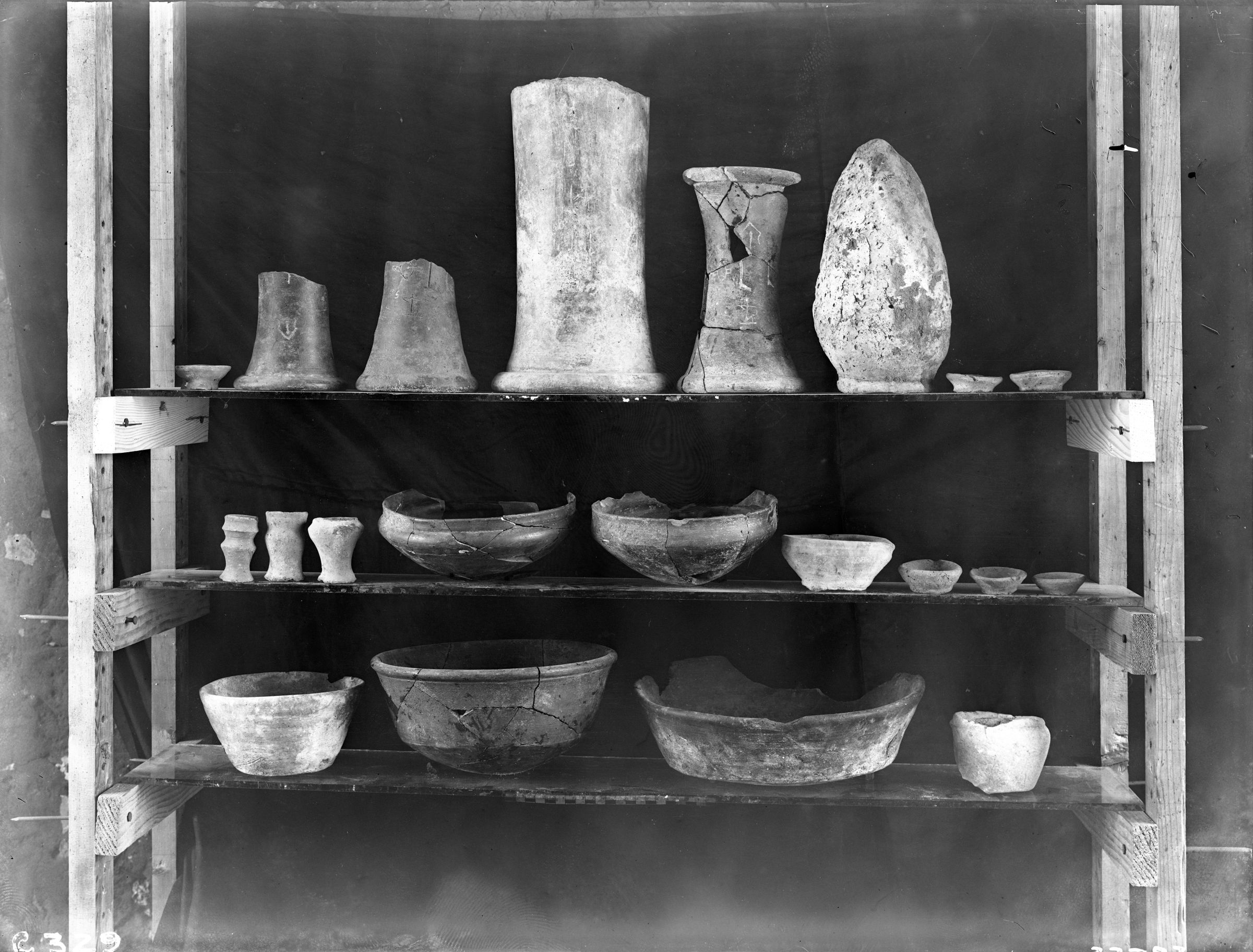 Object(s) photograph: Site: Giza; view: Cemetery G 3000, G 3086, G 3098