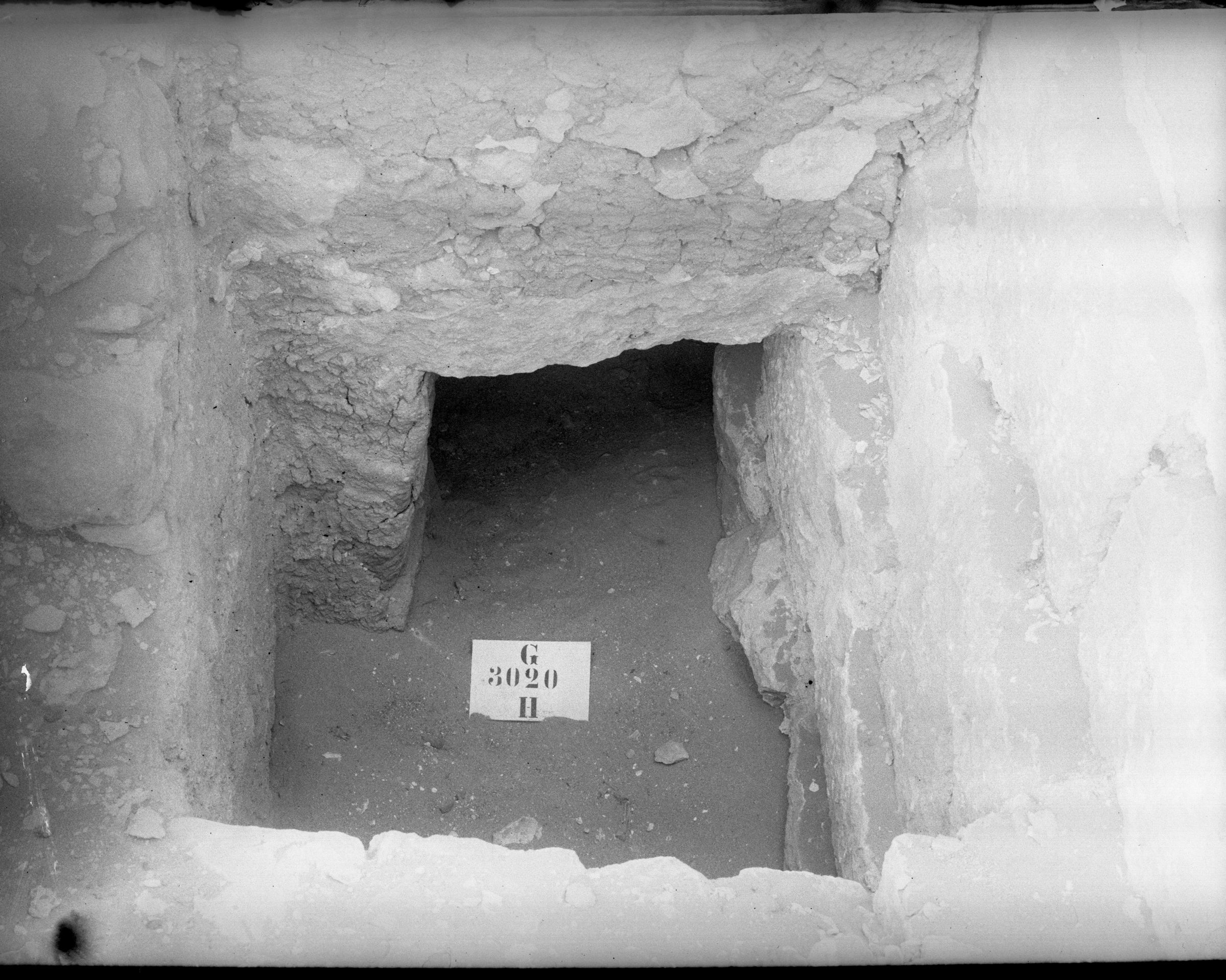 Western Cemetery: Site: Giza; view: G 3020
