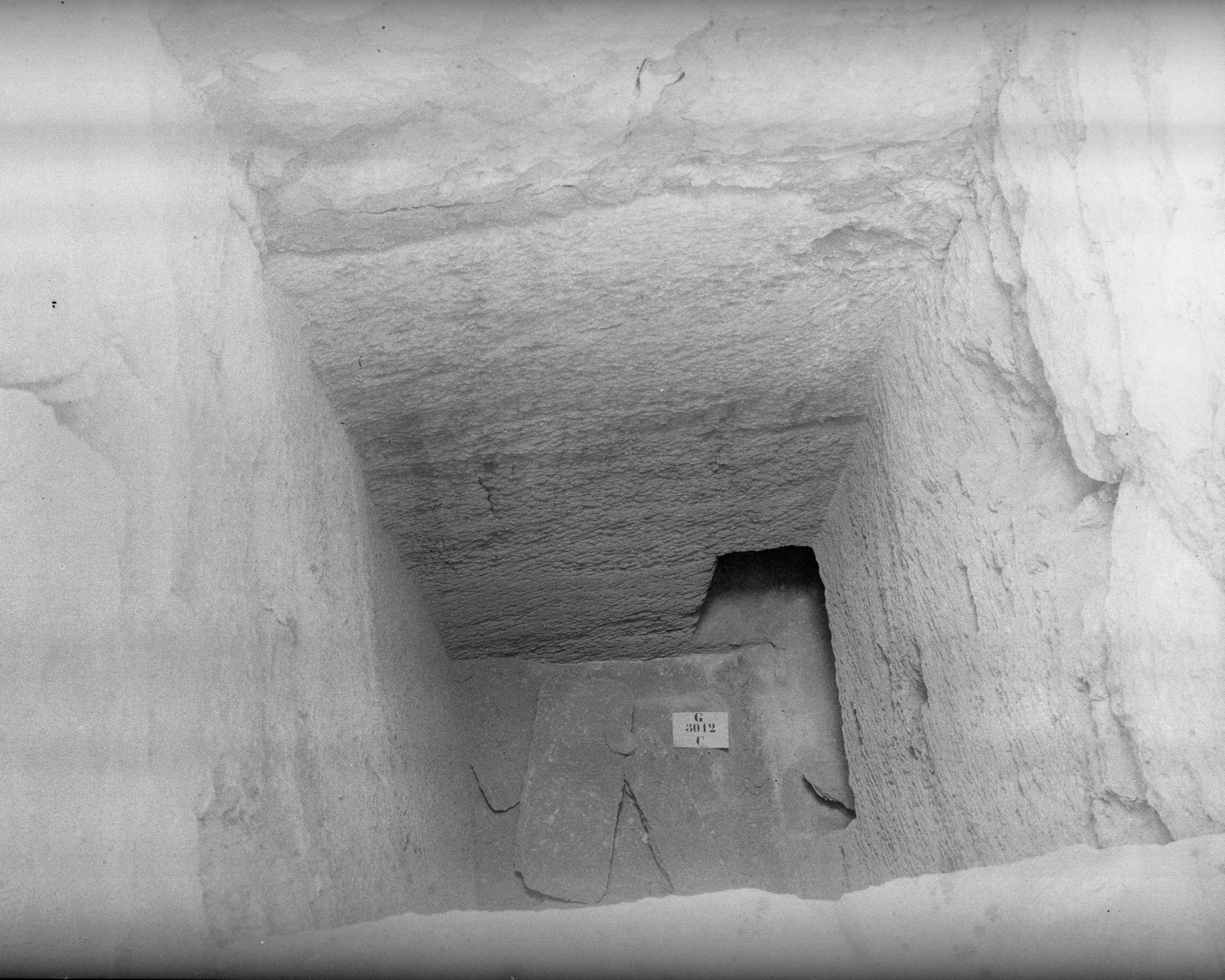 Western Cemetery: Site: Giza; view: G 3012