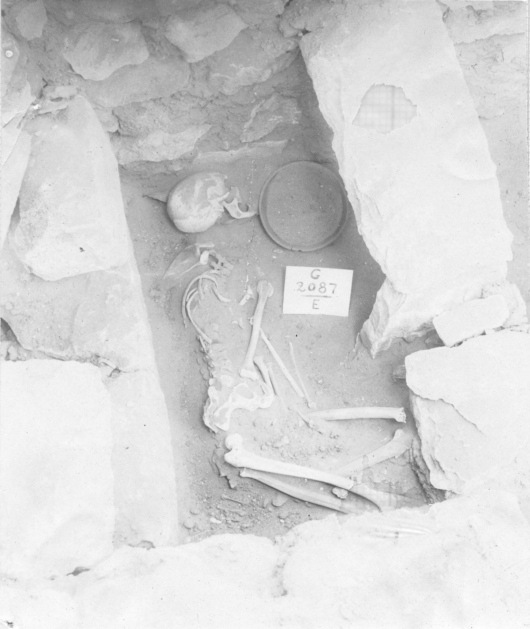Western Cemetery: Site: Giza; view: G 3087