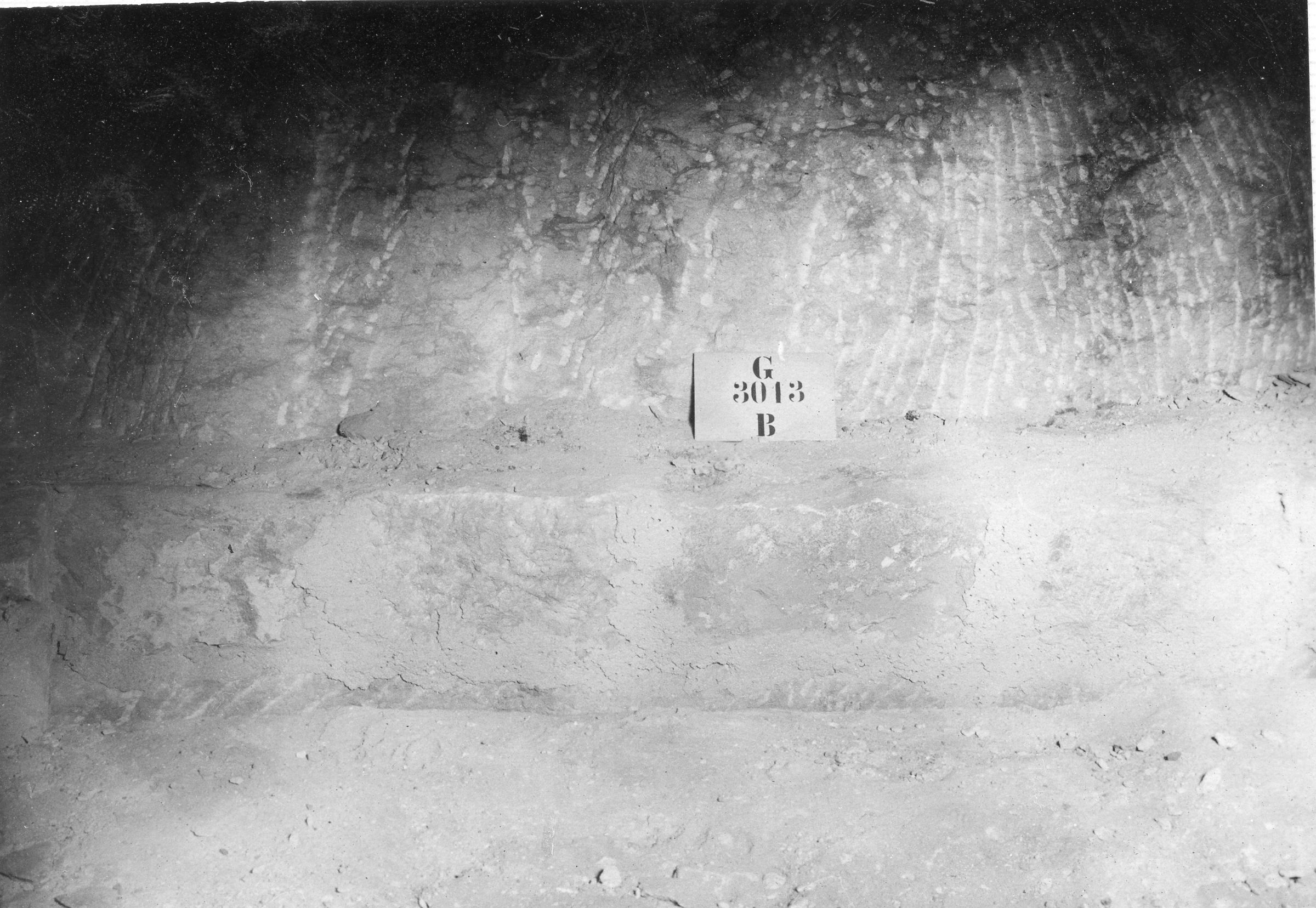 Western Cemetery: Site: Giza; view: G 3013
