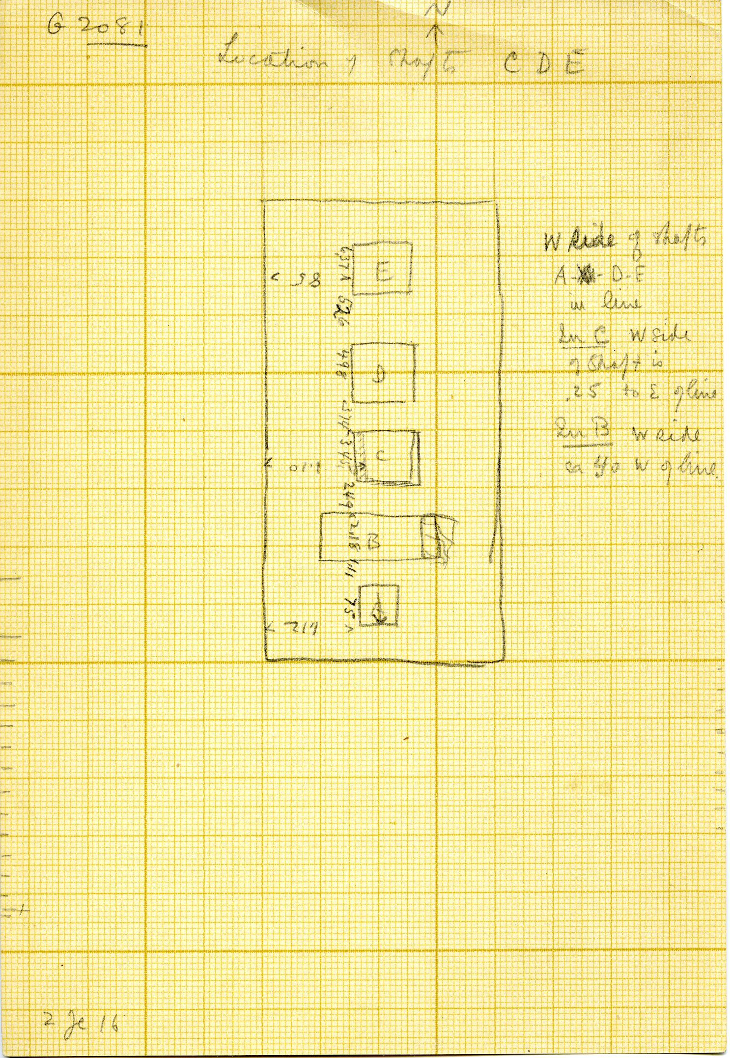 Maps and plans: G 3081, Plan