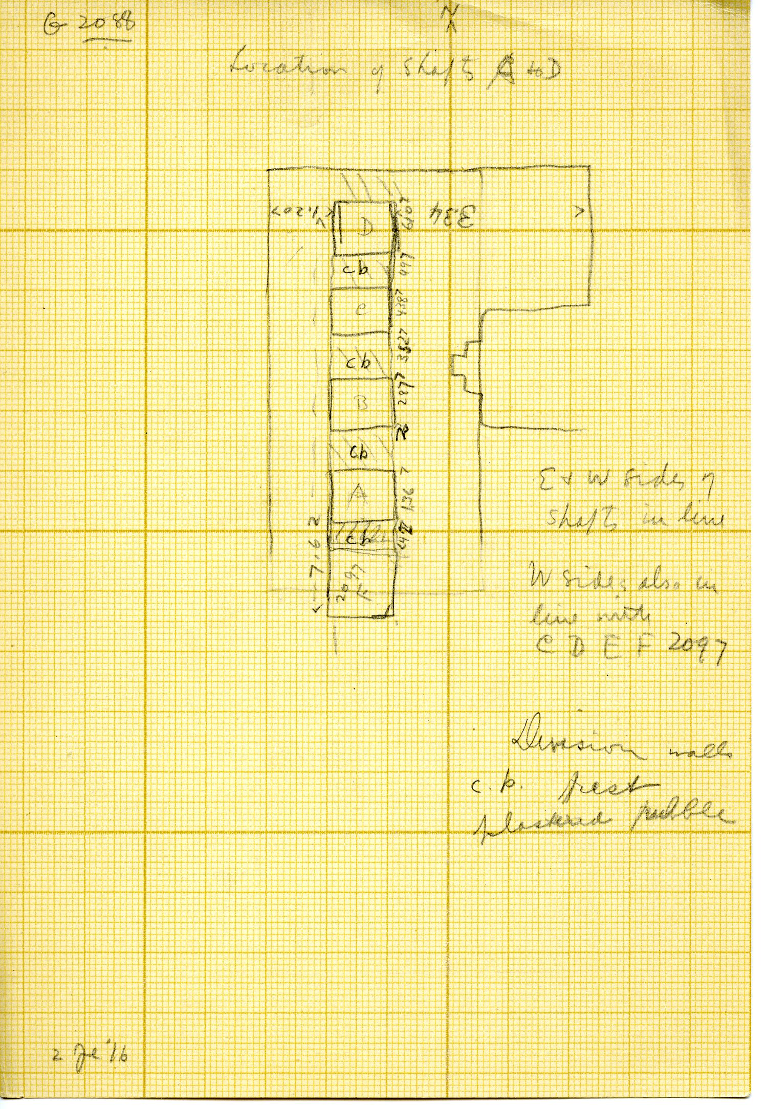 Maps and plans: G 3088, Plan