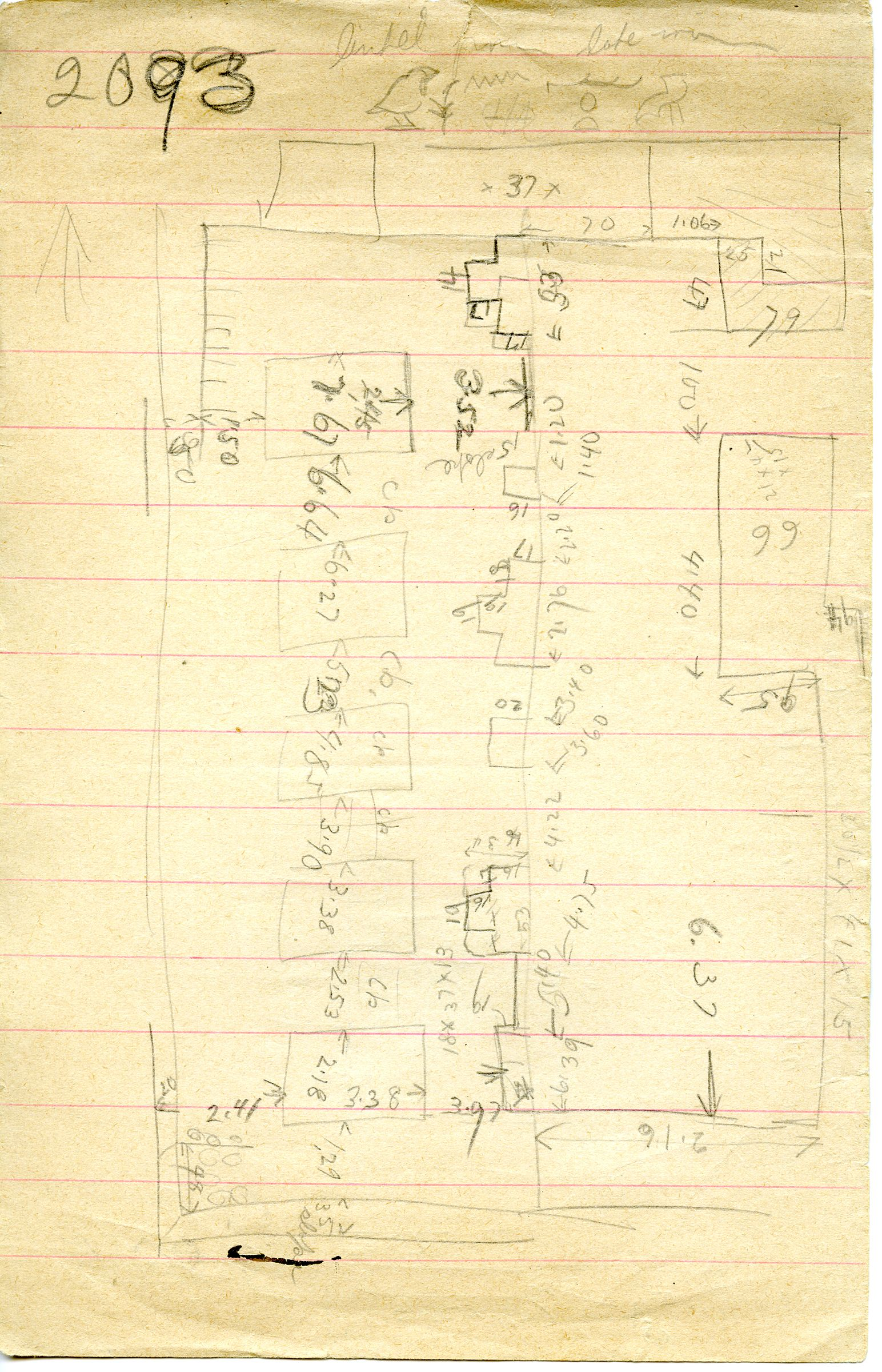 Maps and plans: G 3093, Plan