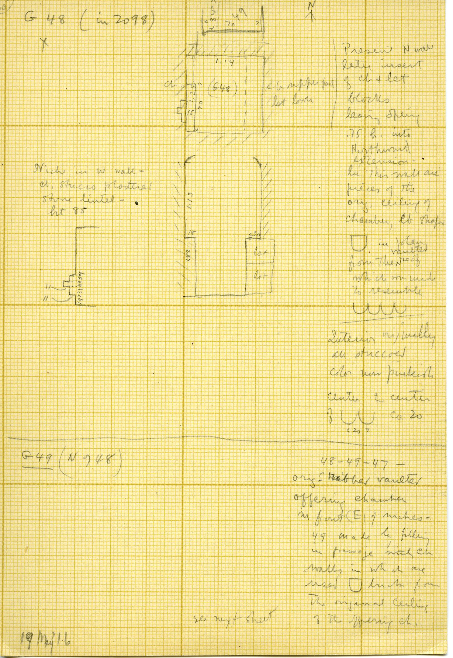 Maps and plans: G 3098, Plans and Sections