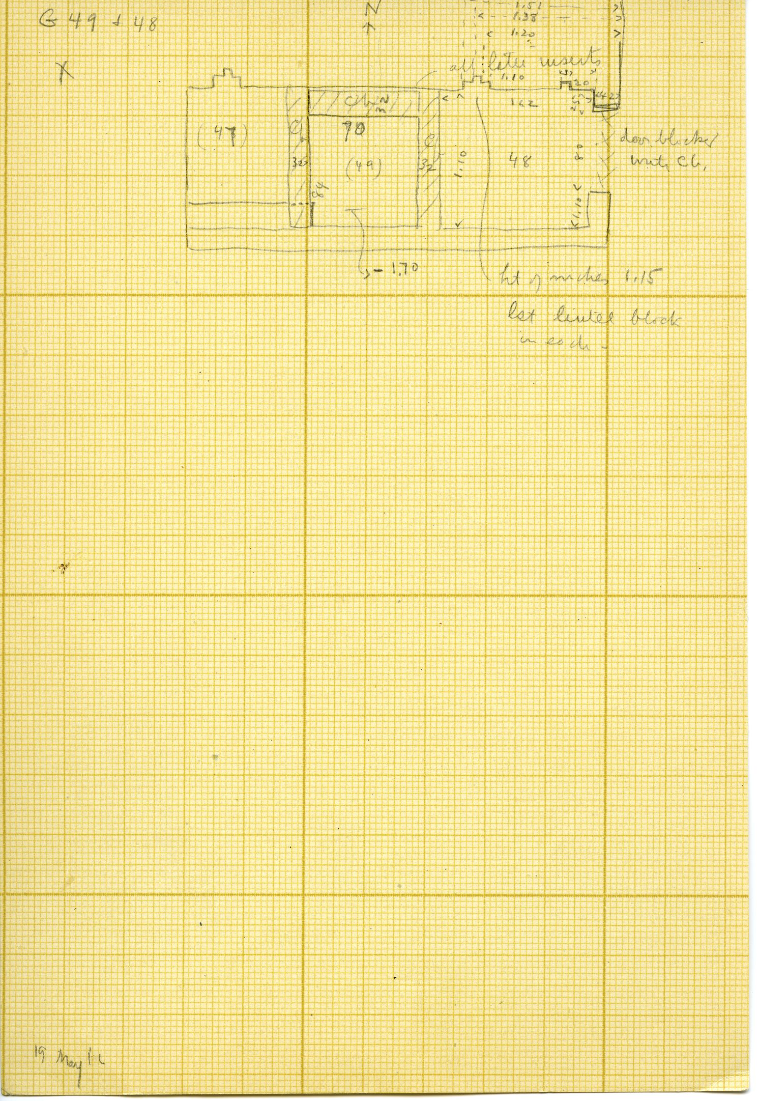 Maps and plans: G 3098, Plan