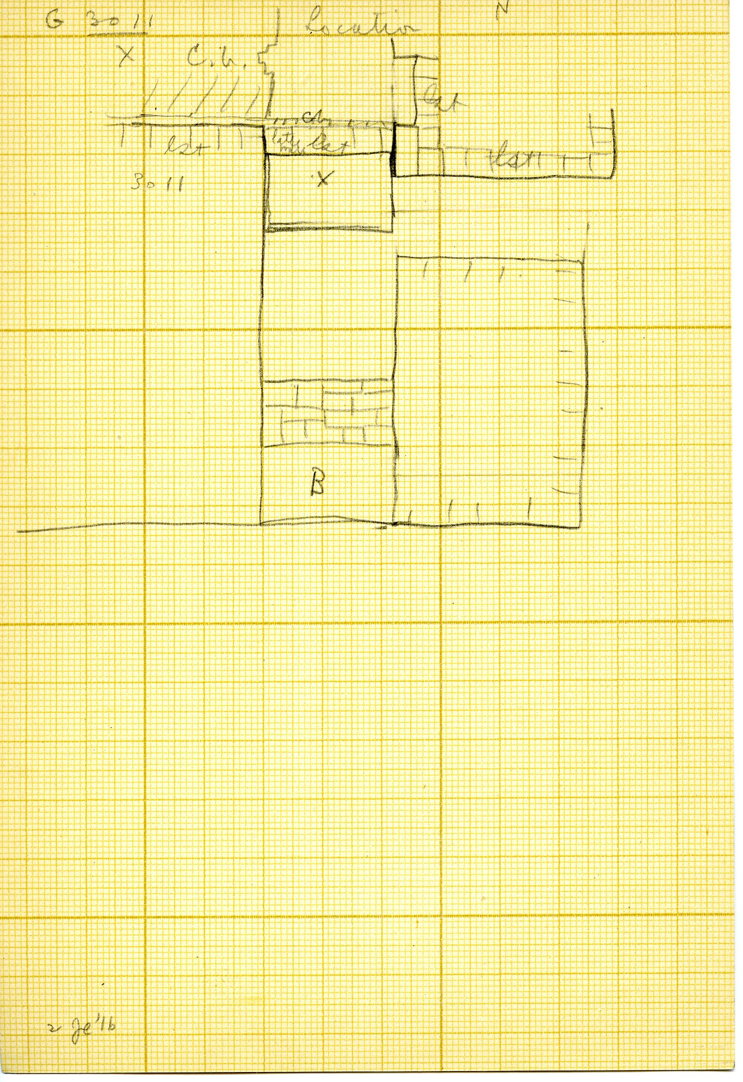 Maps and plans: G 3011, Plan