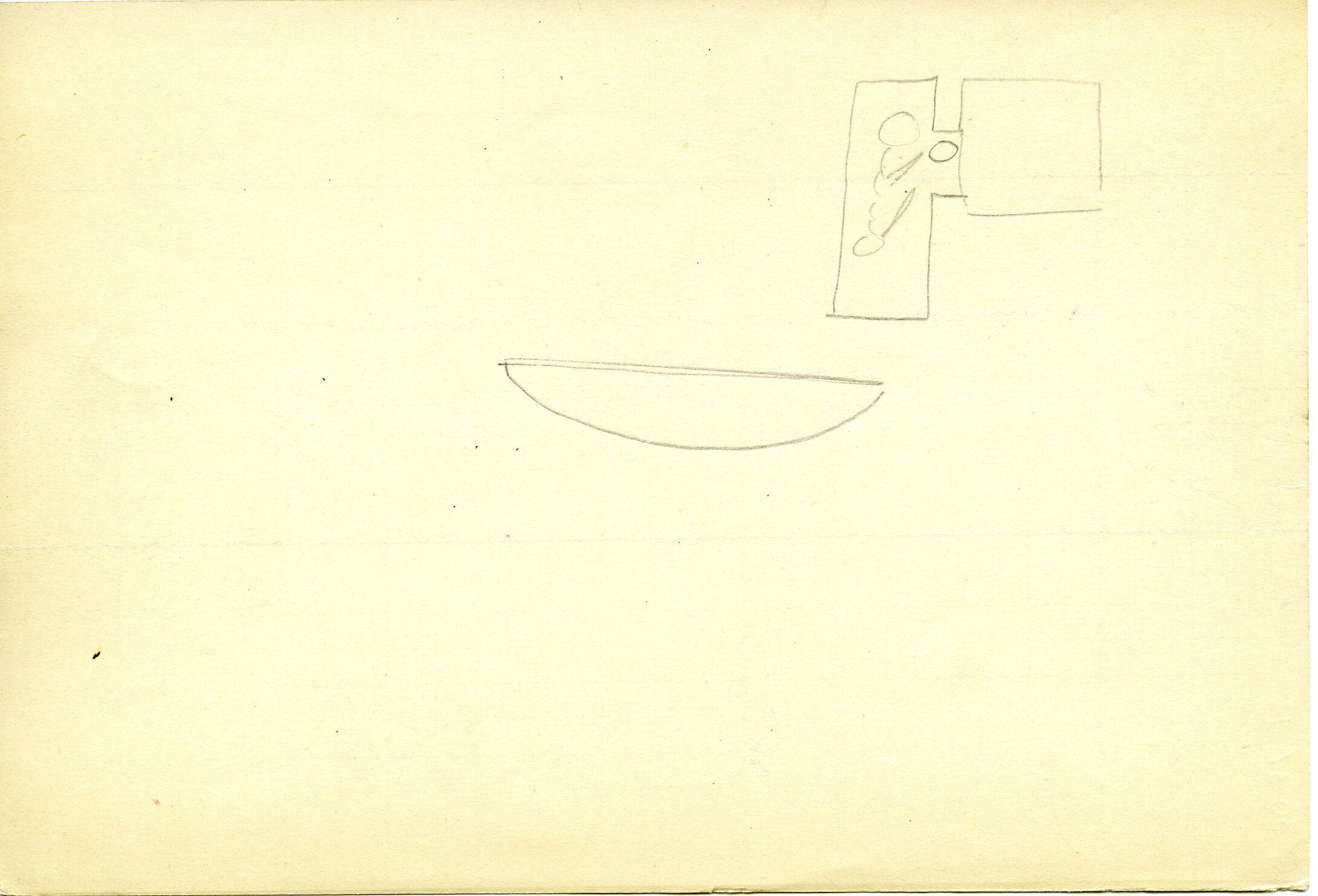 Drawings: G 3031(?): Sketch