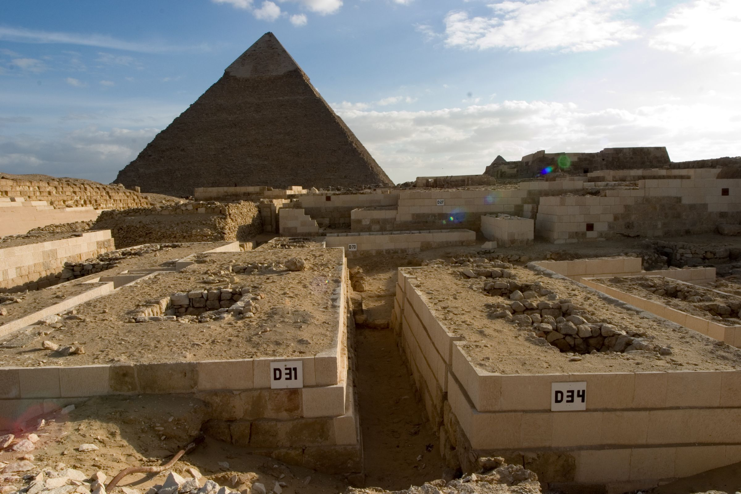 Western Cemetery: Site: Giza; View: D 31, D34