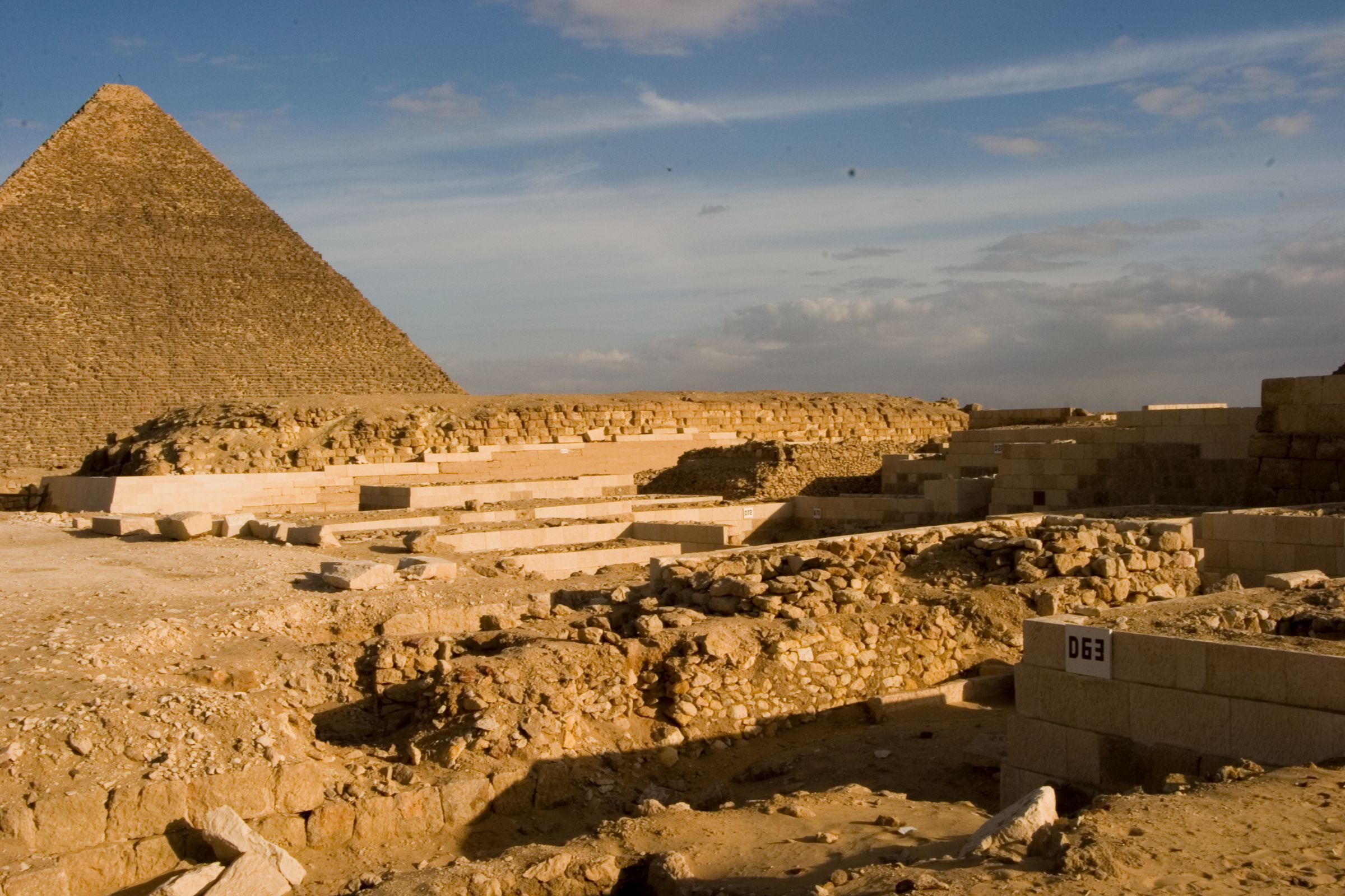 Western Cemetery: Site: Giza; View: D 63, G 4000
