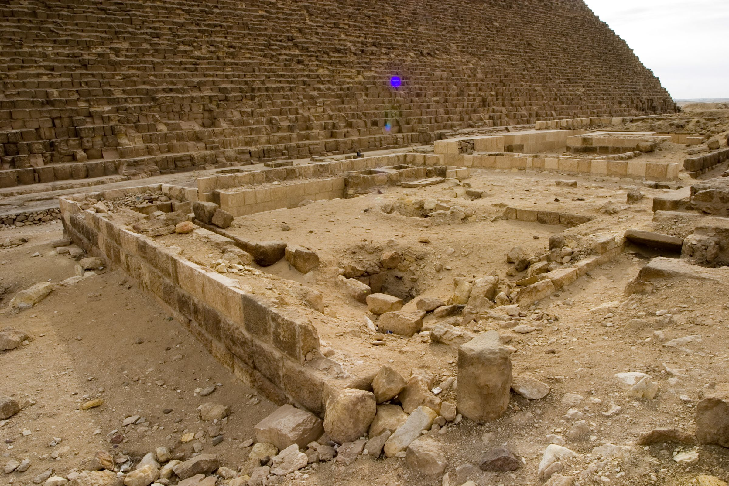 Western Cemetery: Site: Giza; View: S 660/661