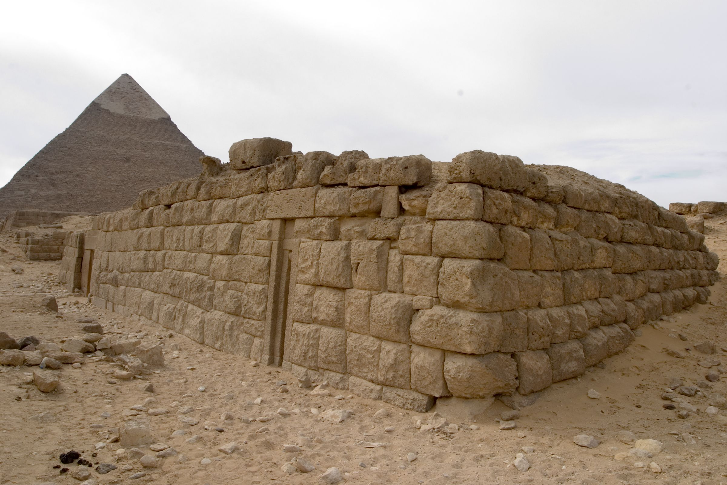Western Cemetery: Site: Giza; View: G 4970