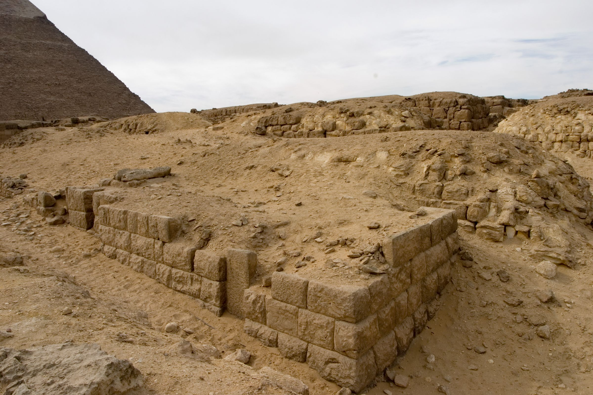 Western Cemetery: Site: Giza; View: G 4960