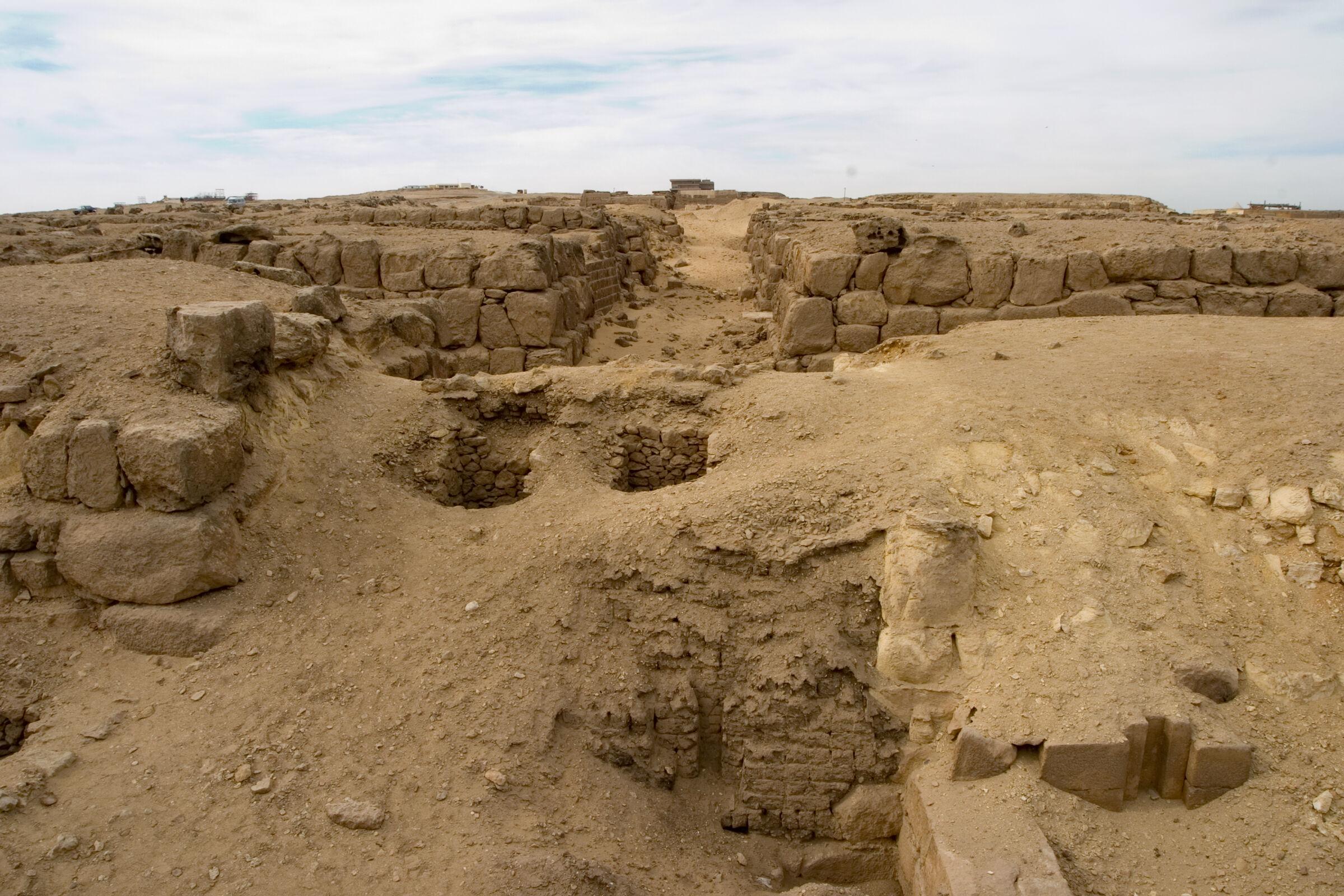 Western Cemetery: Site: Giza; View: G 4940, G 4830, G 4840, G 4730, G 4740