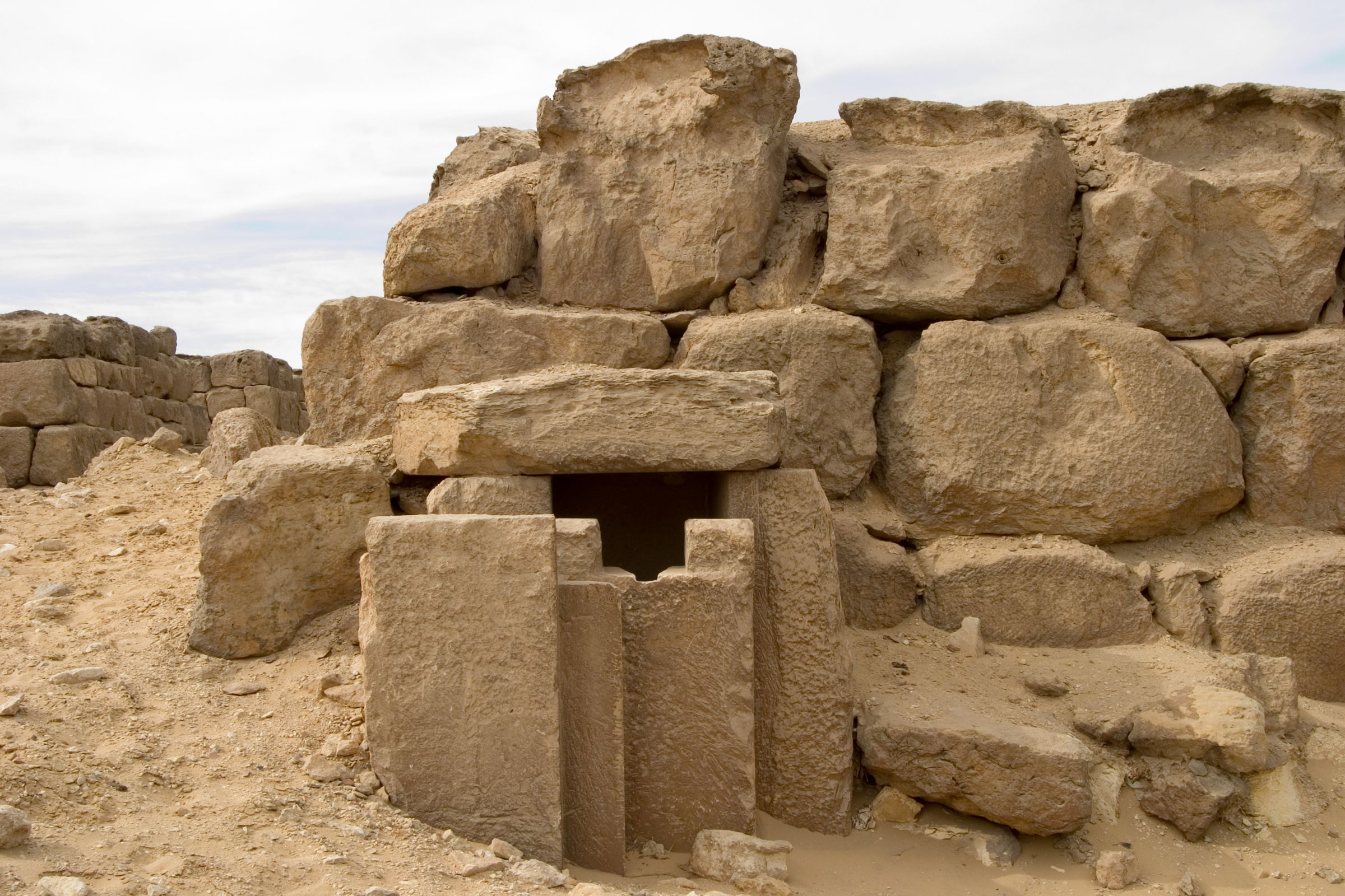Western Cemetery: Site: Giza; View: G 4750