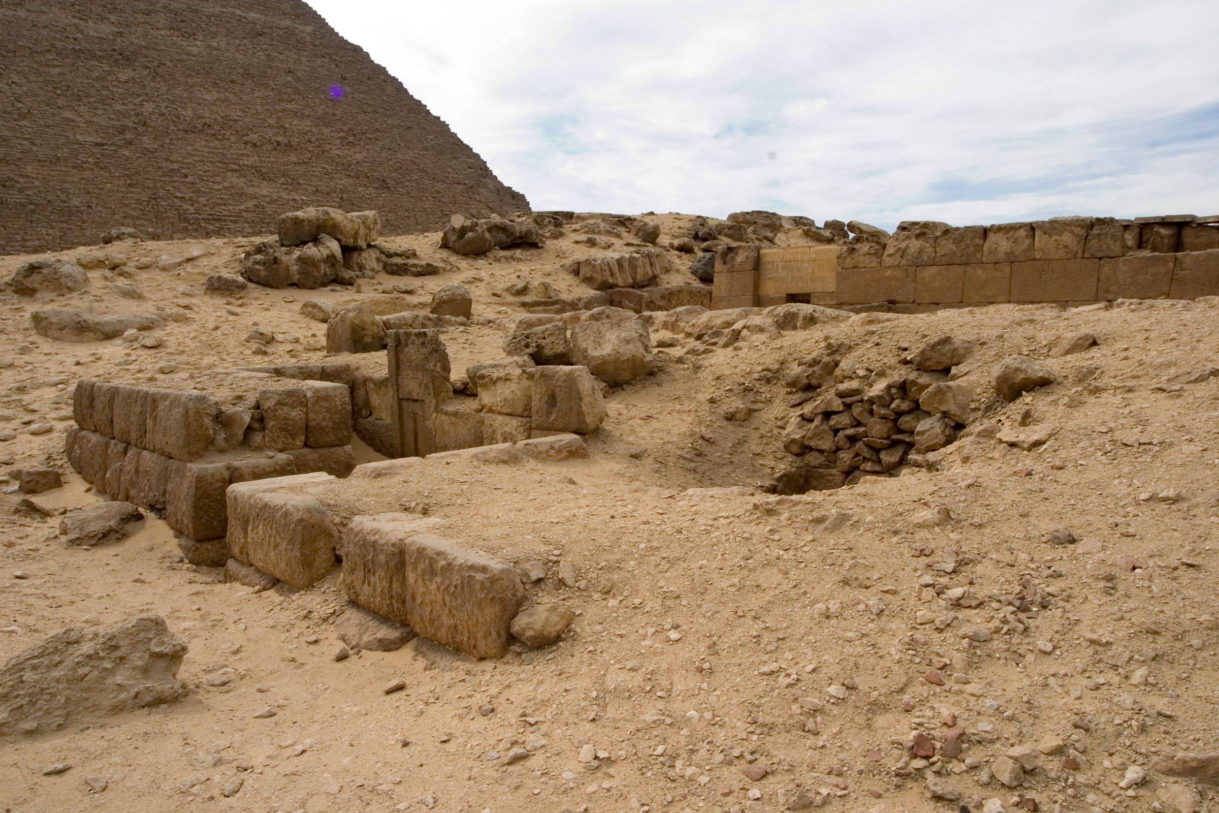 Western Cemetery: Site: Giza; View: G 4712