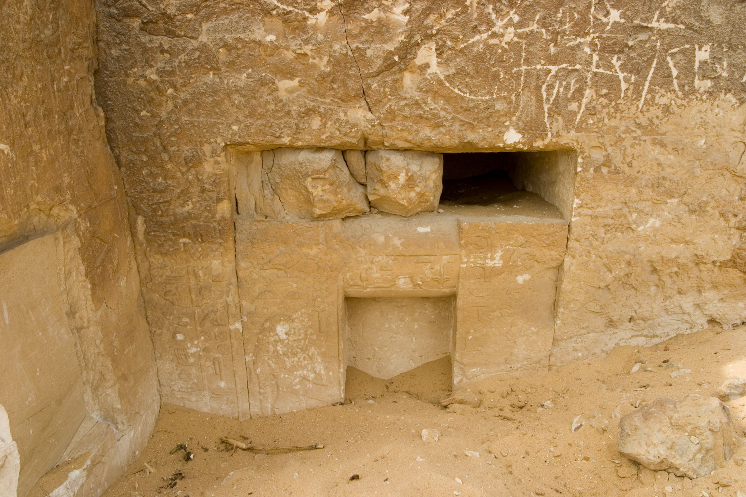 Western Cemetery: Site: Giza; View: G 4650