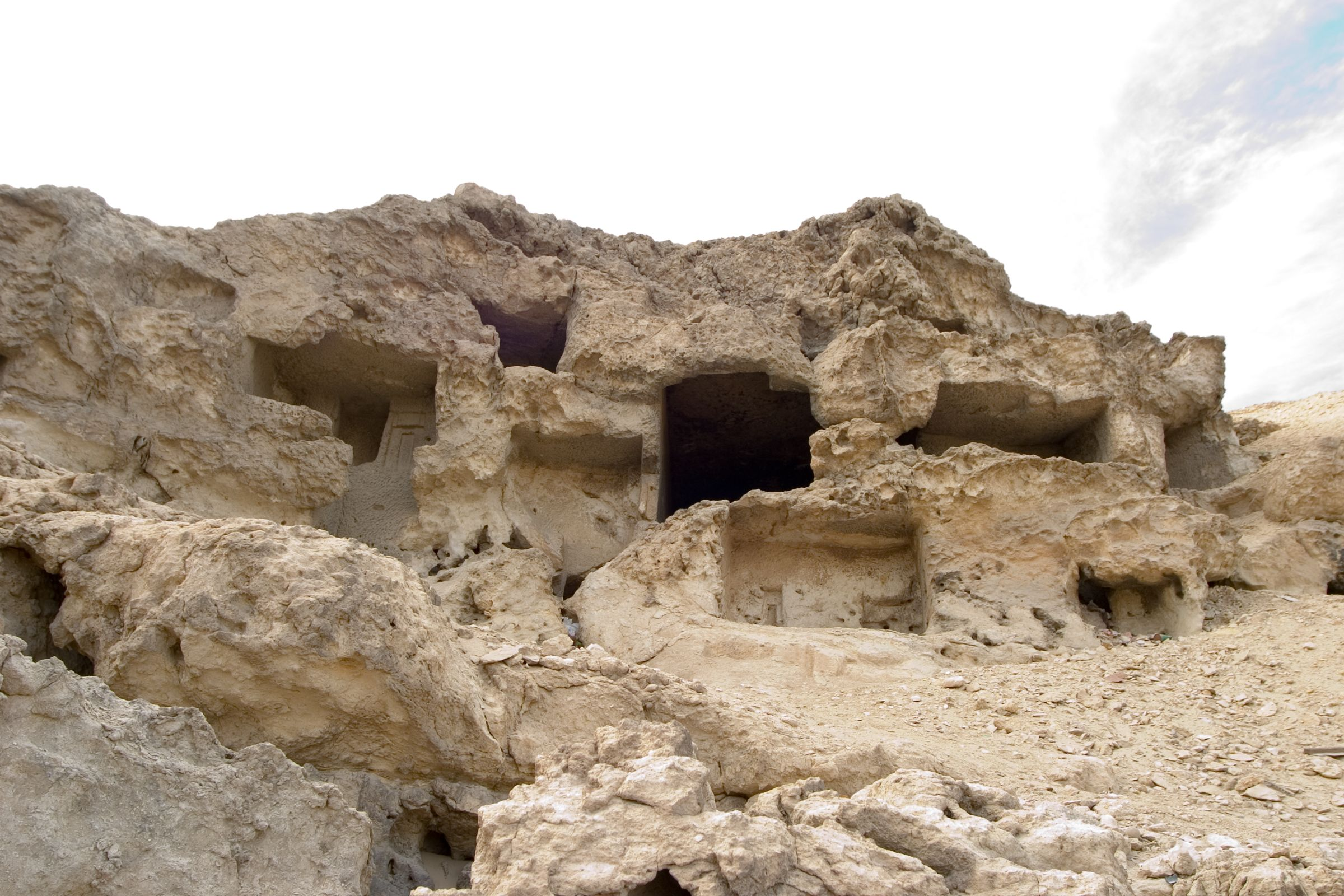 Eastern Cemetery: Site: Giza; View: Lepsius 79, Lepsius 78