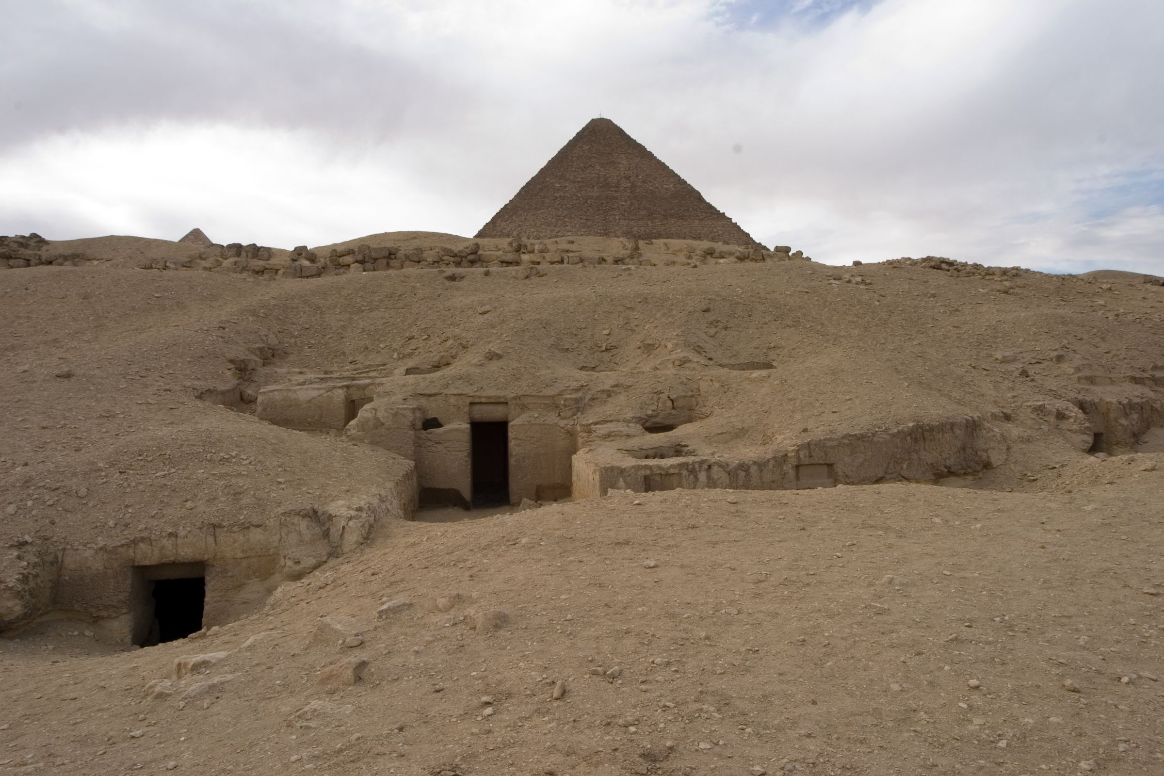 Eastern Cemetery: Site: Giza; View: G 7716, G 7715, G 7714