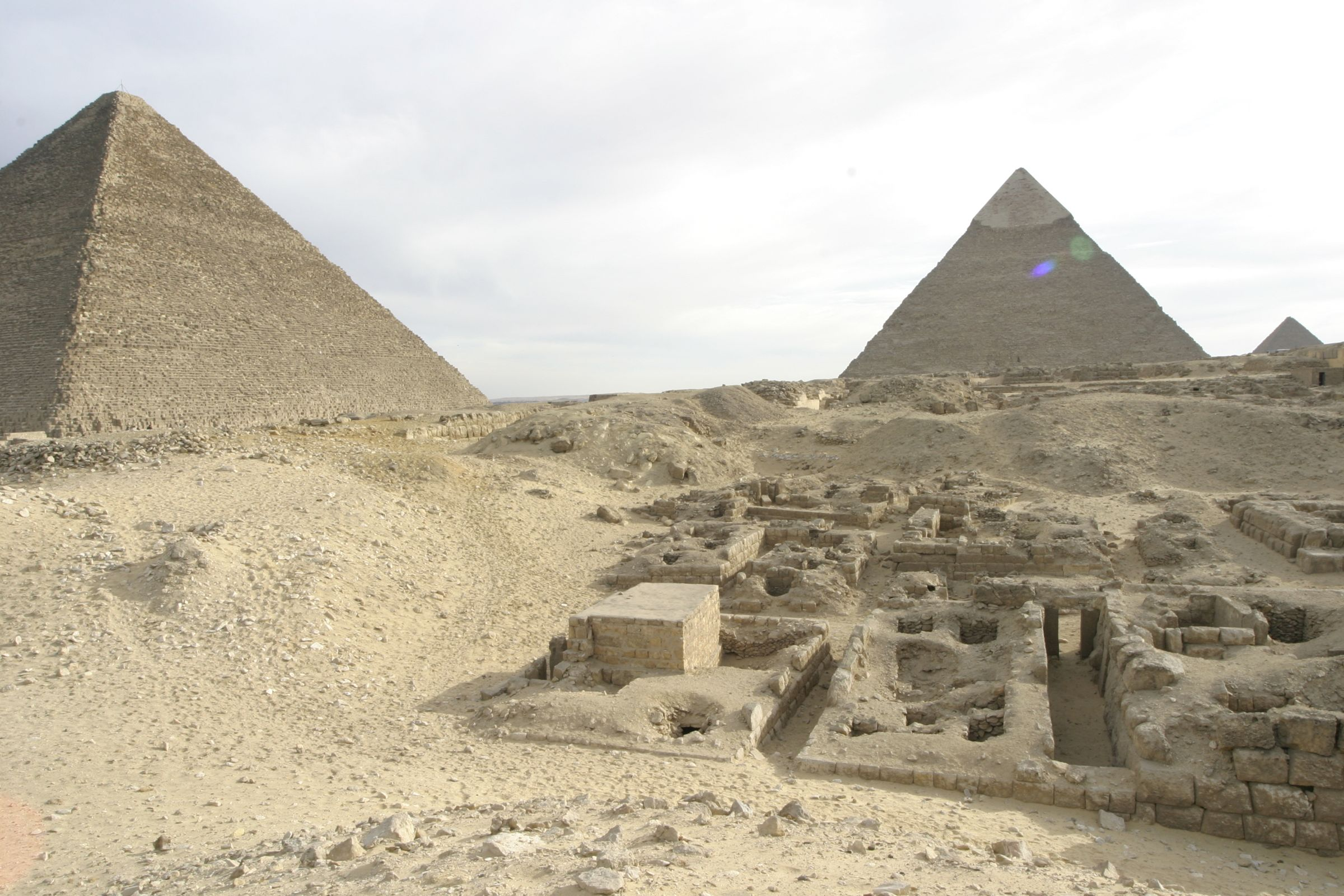Western Cemetery: Site: Giza; View: G 2240, G 2231, G 2230
