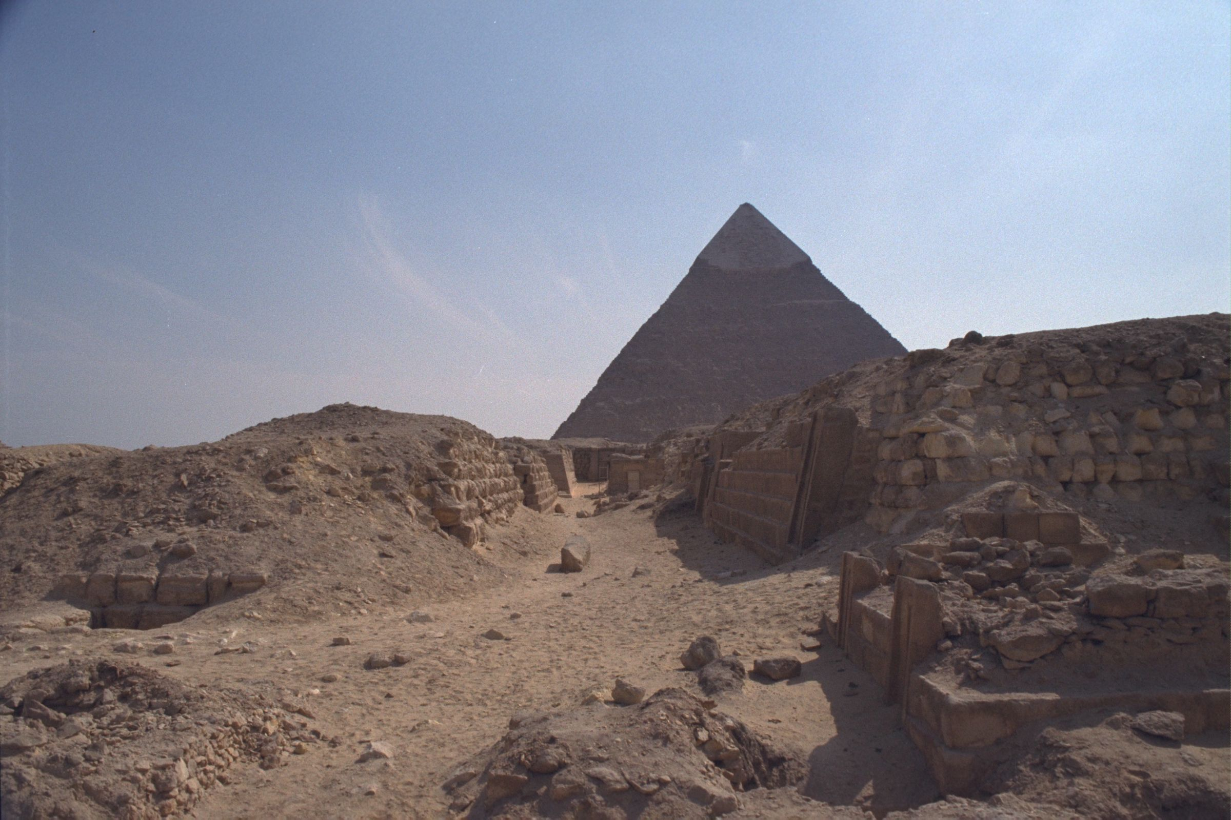 Western Cemetery: Site: Giza; View: G 2151, G 2150, G 2170