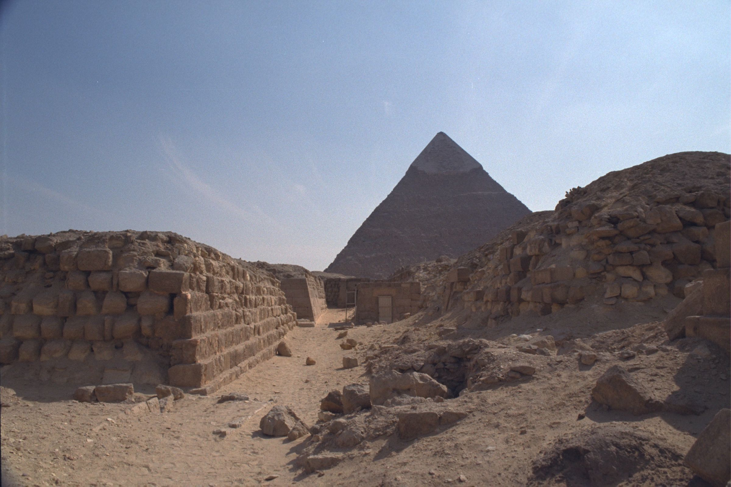 Western Cemetery: Site: Giza; View: G 2140, G 2160