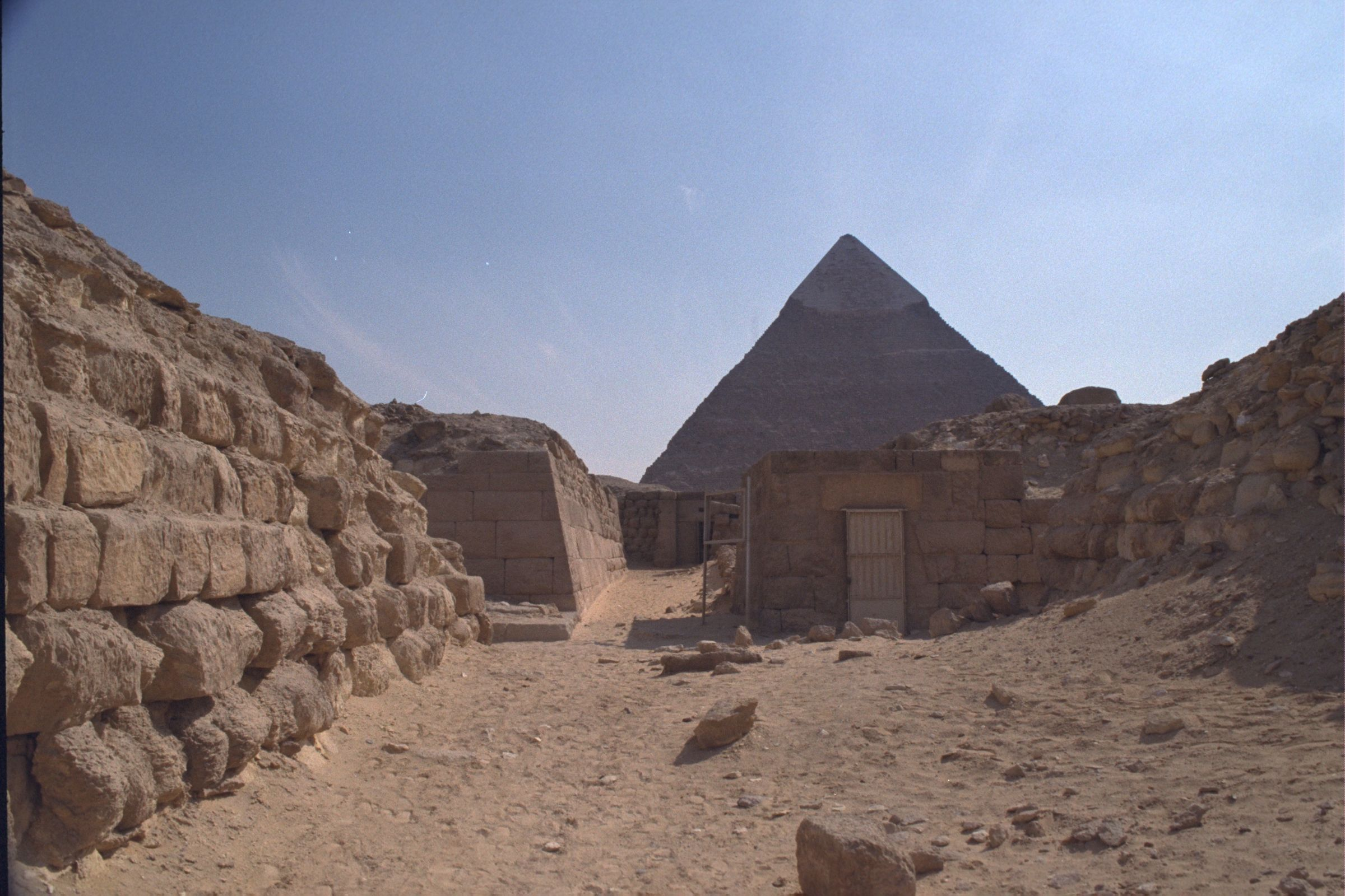 Western Cemetery: Site: Giza; View: G 2140, G 2160, G 2136