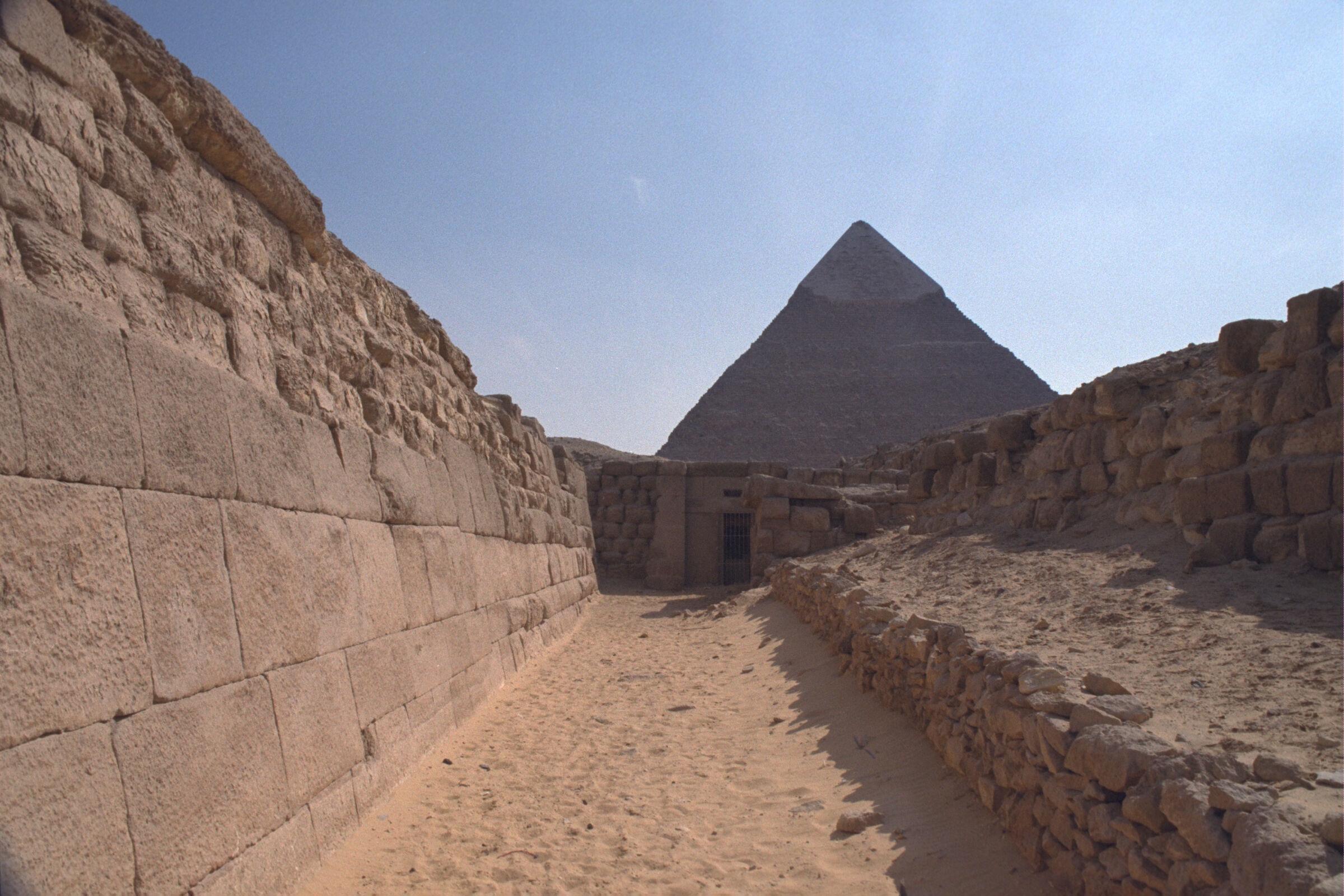 Western Cemetery: Site: Giza; View: G 2135, G 2155, Nefer III