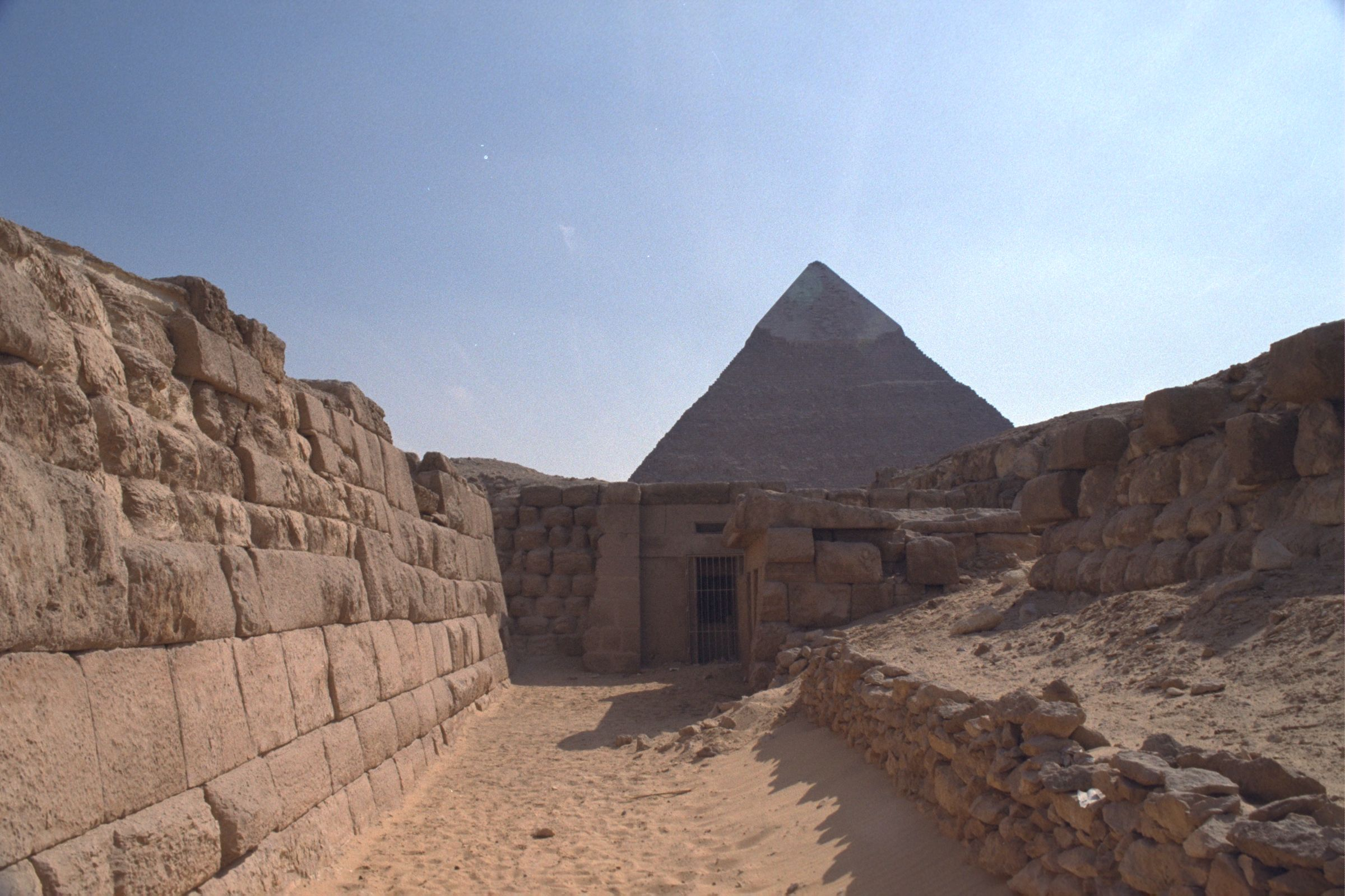 Western Cemetery: Site: Giza; View: G 2135, G 2155, Nefer III, G 4761