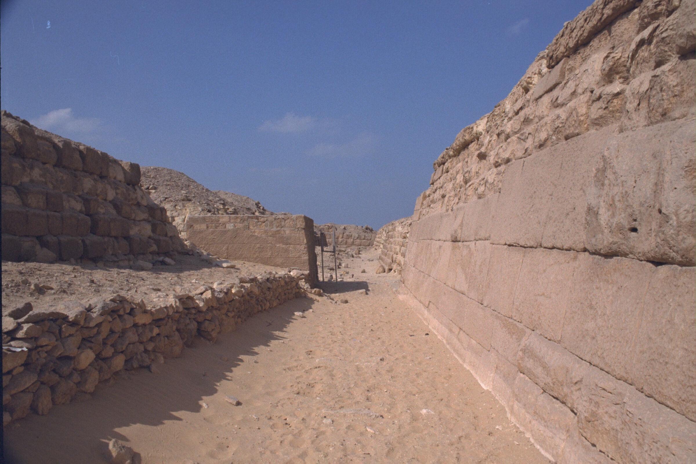Western Cemetery: Site: Giza; View: G 2135, G 2155, Nefer III, G 2136