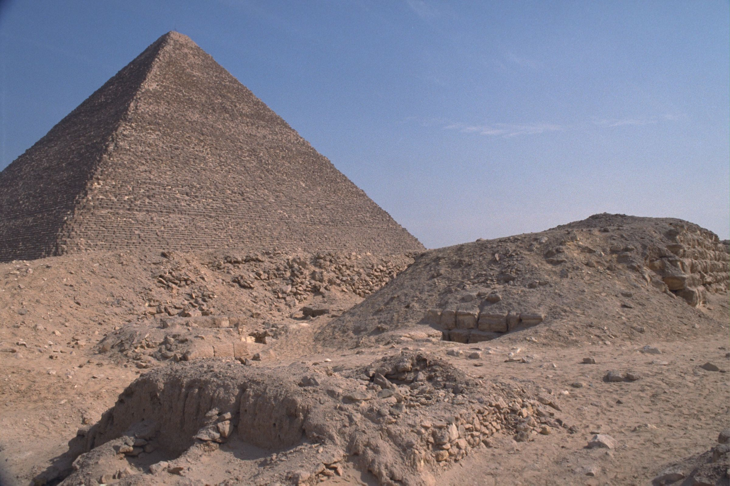 Western Cemetery: Site: Giza; View: G 2170, G 2154, G 2223, G 2223a, G 2157