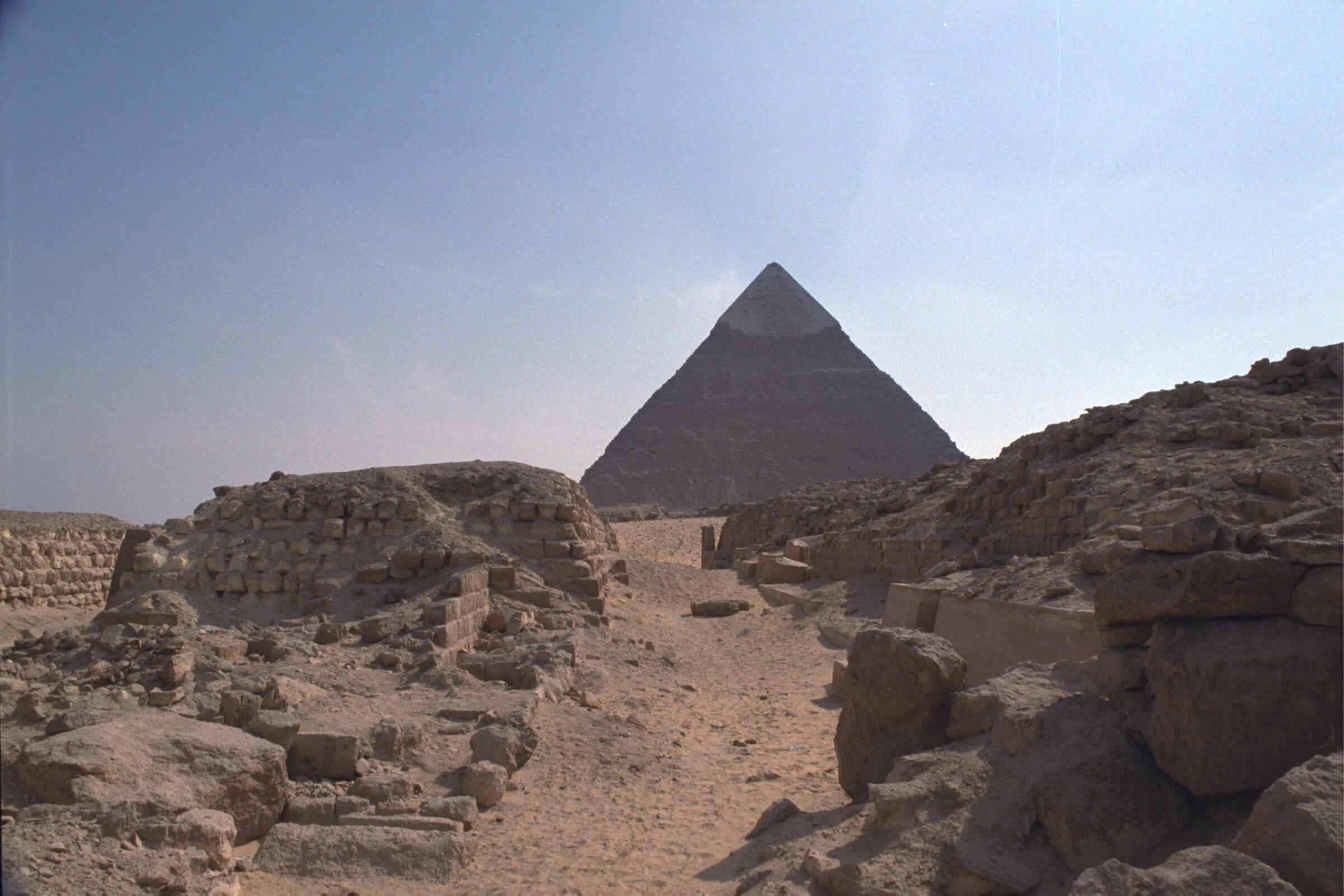 Western Cemetery: Site: Giza; View: G 2133, G 2134, G 2131, G 2132, G 2210