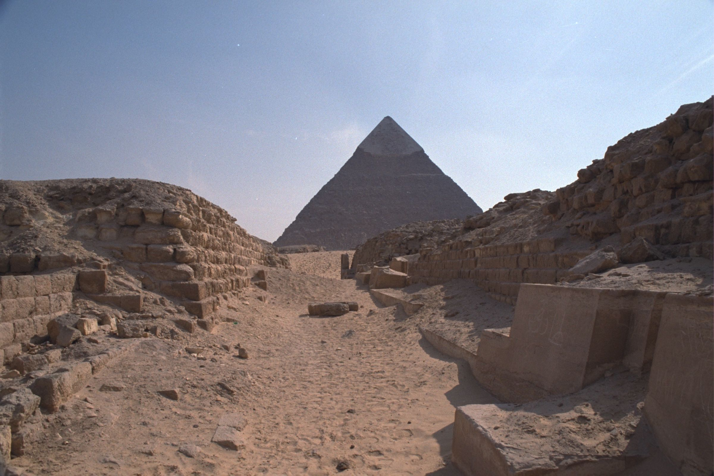 Western Cemetery: Site: Giza; View:  G 2131, G 2130