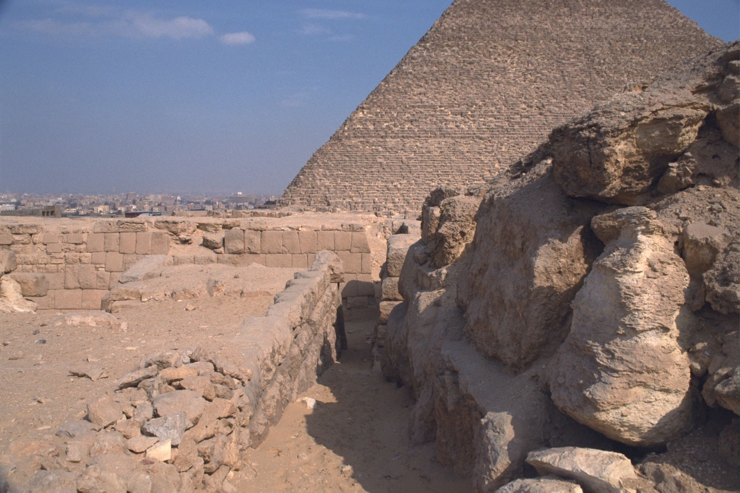 Western Cemetery: Site: Giza; View: Qedfy (G 2135a), G 2155, G 4760