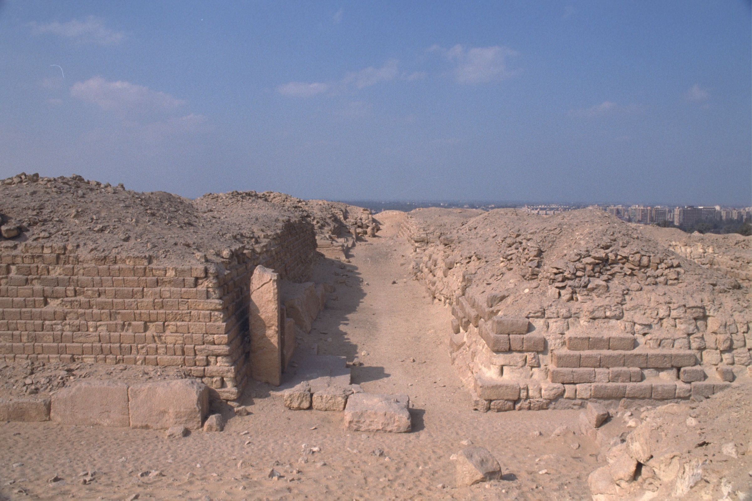 Western Cemetery: Site: Giza; View: G 2120, G 2135, G 2140