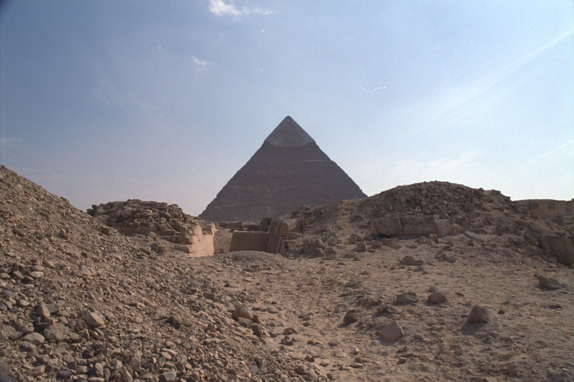 Western Cemetery: Site: Giza; View: G 2210, G 2130, G 2110
